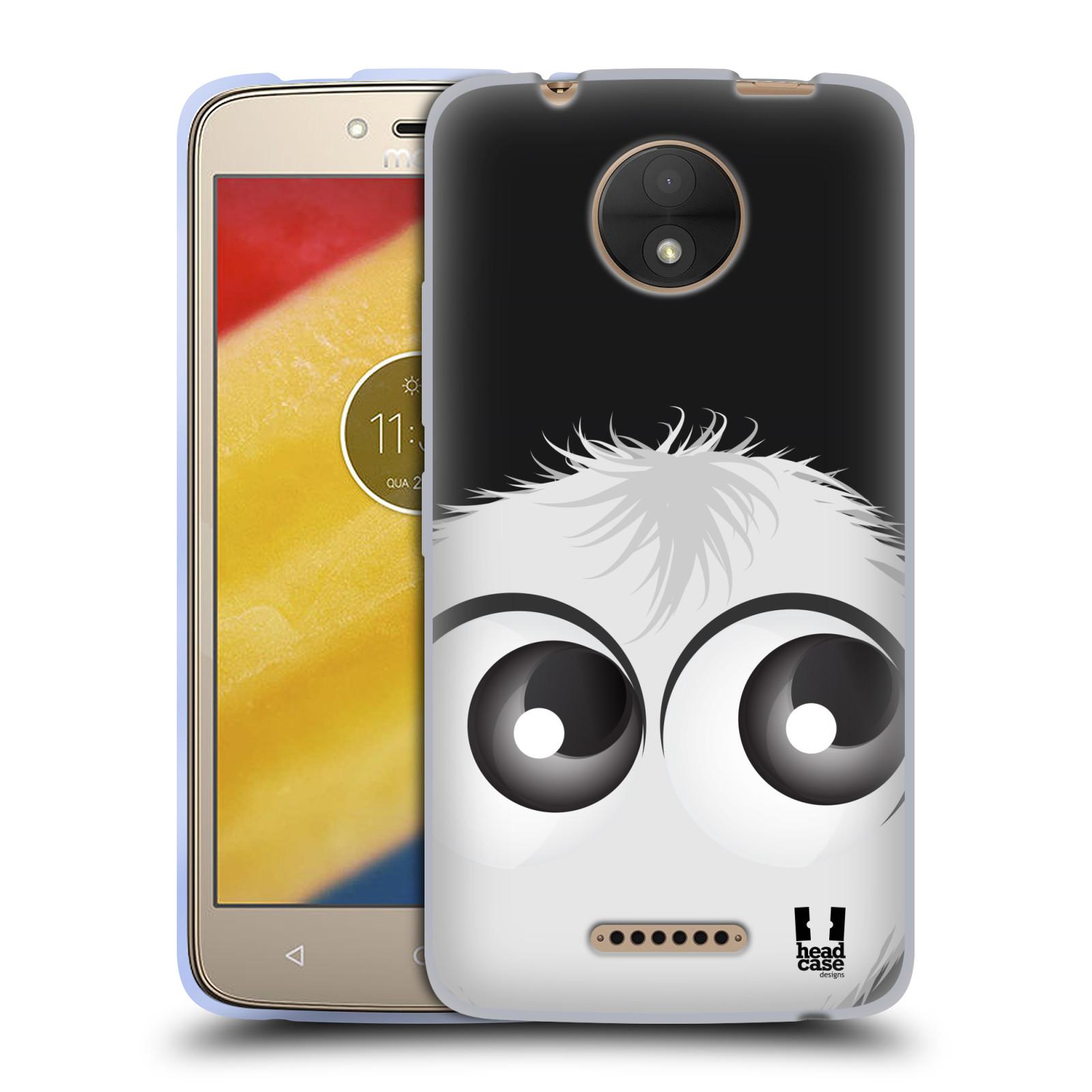 Silikonové pouzdro na mobil Lenovo Moto C - Head Case - FUZÍK BÍLÝ (Silikonový kryt či obal na mobilní telefon Lenovo Moto C s motivem FUZÍK BÍLÝ)
