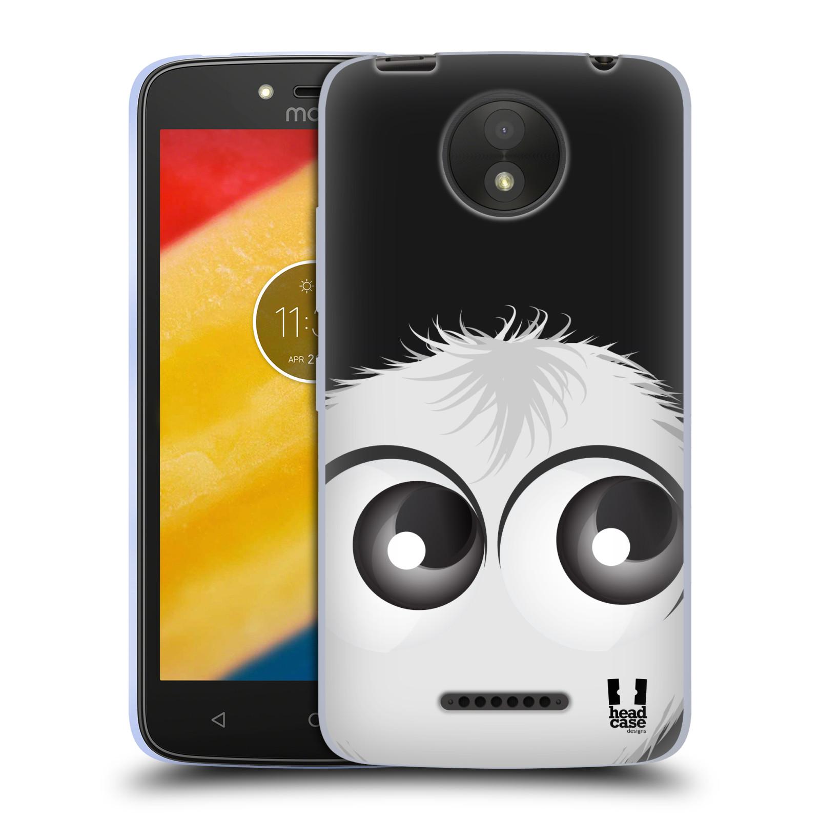 Silikonové pouzdro na mobil Lenovo Moto C Plus - Head Case - FUZÍK BÍLÝ (Silikonový kryt či obal na mobilní telefon Lenovo Moto C Plus s motivem FUZÍK BÍLÝ)