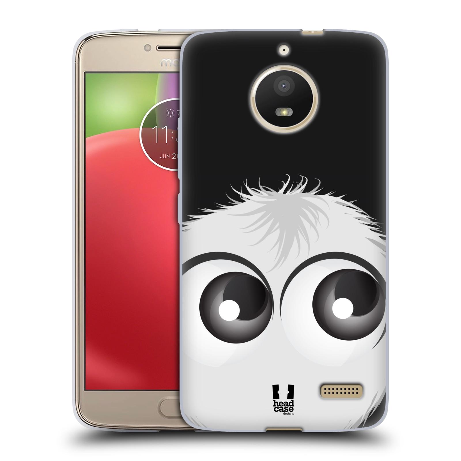 Silikonové pouzdro na mobil Lenovo Moto E4 - Head Case - FUZÍK BÍLÝ (Silikonový kryt či obal na mobilní telefon Lenovo Moto E4 s motivem FUZÍK BÍLÝ)