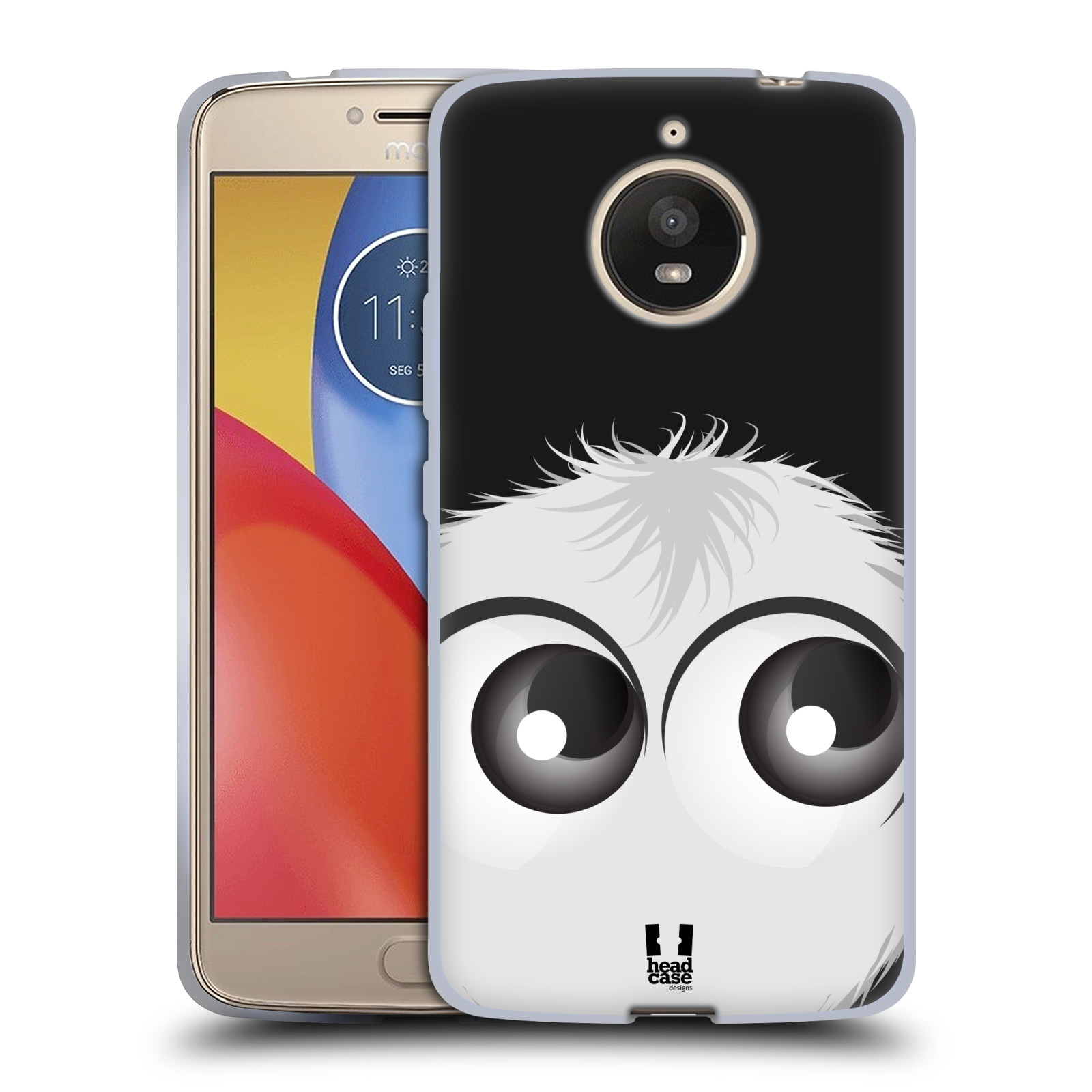 Silikonové pouzdro na mobil Lenovo Moto E4 Plus - Head Case - FUZÍK BÍLÝ (Silikonový kryt či obal na mobilní telefon Lenovo Moto E4 Plus s motivem FUZÍK BÍLÝ)