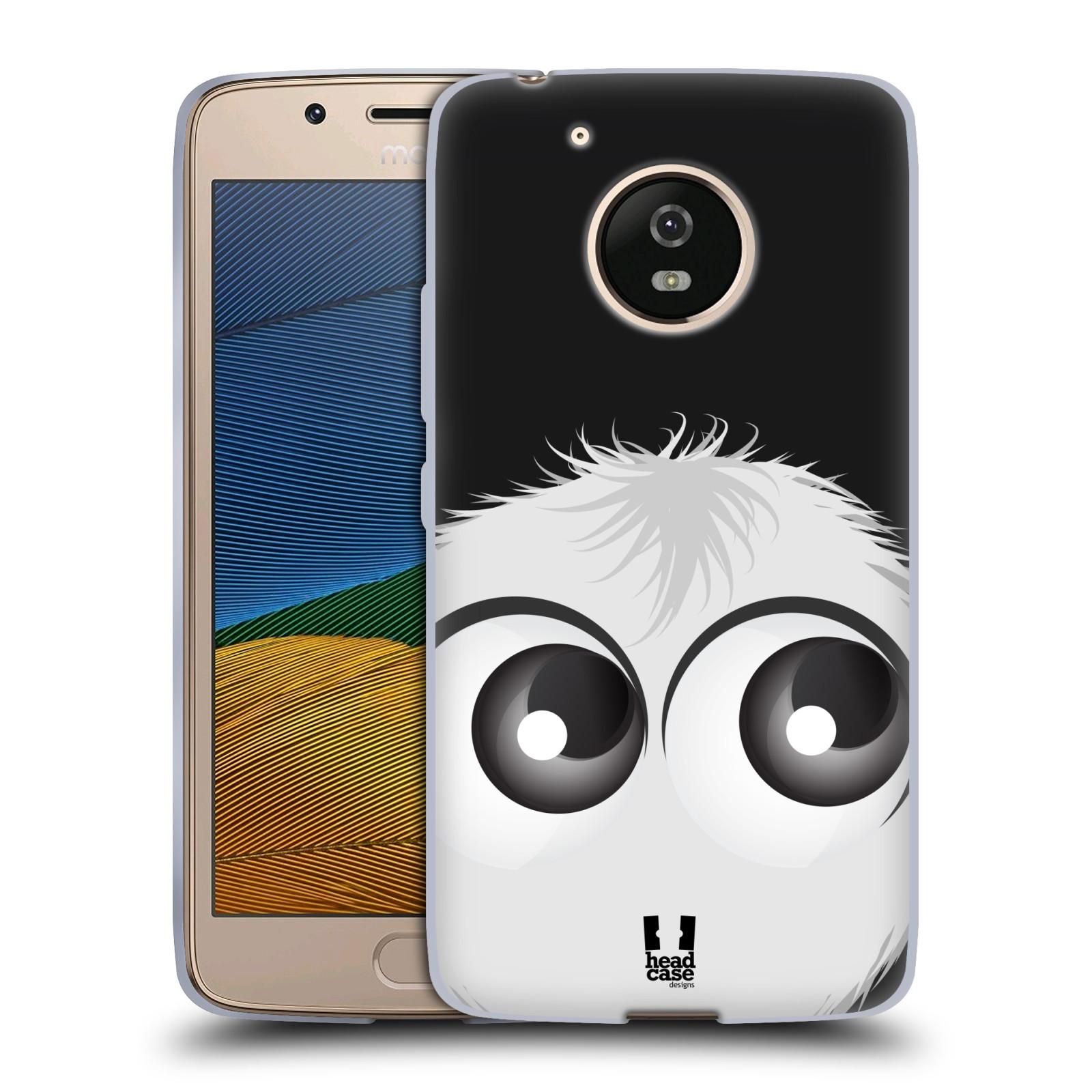 Silikonové pouzdro na mobil Lenovo Moto G5 - Head Case FUZÍK BÍLÝ (Silikonový kryt či obal na mobilní telefon Lenovo Moto G5)