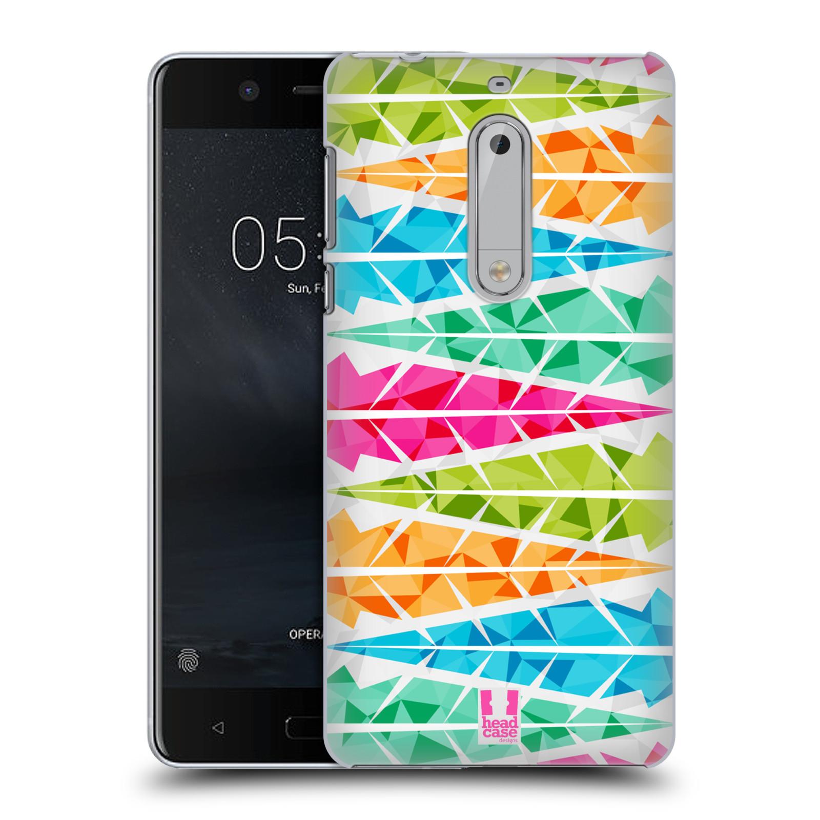 Plastové pouzdro na mobil Nokia 5 Head Case - PÍRKA ALTERNATING (Plastový kryt či obal na mobilní telefon Nokia 5 (2017))