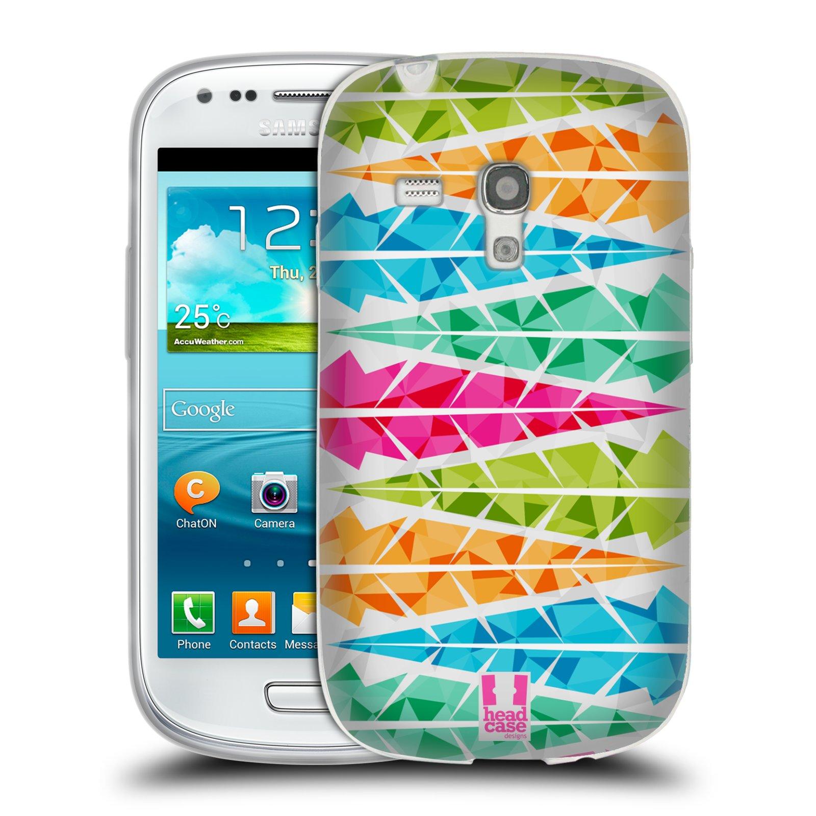 Silikonové pouzdro na mobil Samsung Galaxy S III Mini HEAD CASE PÍRKA ALTERNATING (Silikonový kryt či obal na mobilní telefon Samsung Galaxy S III Mini GT-i8190)