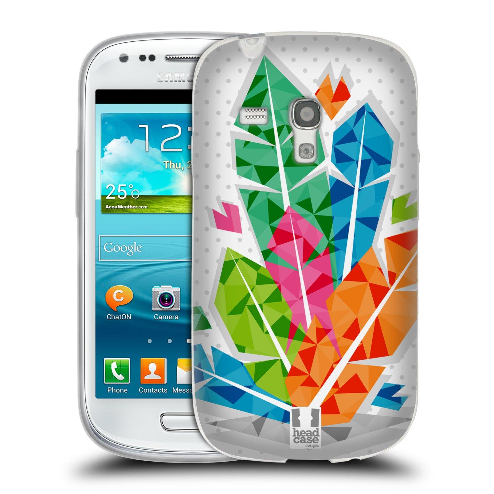 Silikonové pouzdro na mobil Samsung Galaxy S III Mini HEAD CASE PÍRKA BUNCH (Silikonový kryt či obal na mobilní telefon Samsung Galaxy S III Mini GT-i8190)