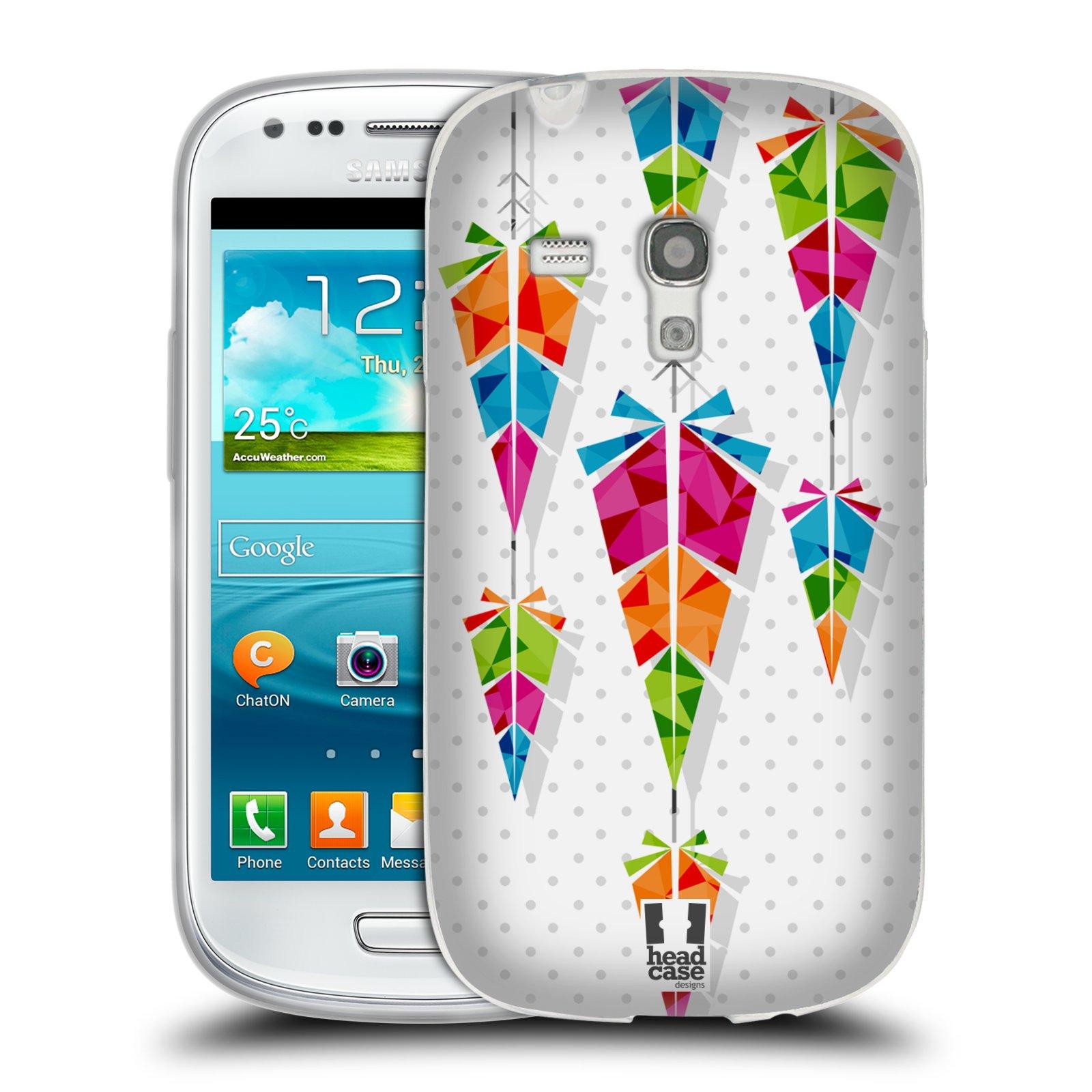 Silikonové pouzdro na mobil Samsung Galaxy S III Mini HEAD CASE PÍRKA CHIMES (Silikonový kryt či obal na mobilní telefon Samsung Galaxy S III Mini GT-i8190)