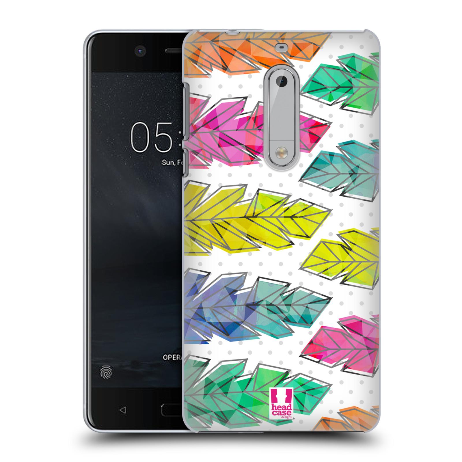 Plastové pouzdro na mobil Nokia 5 Head Case - PÍRKA DOODLE (Plastový kryt či obal na mobilní telefon Nokia 5 (2017))