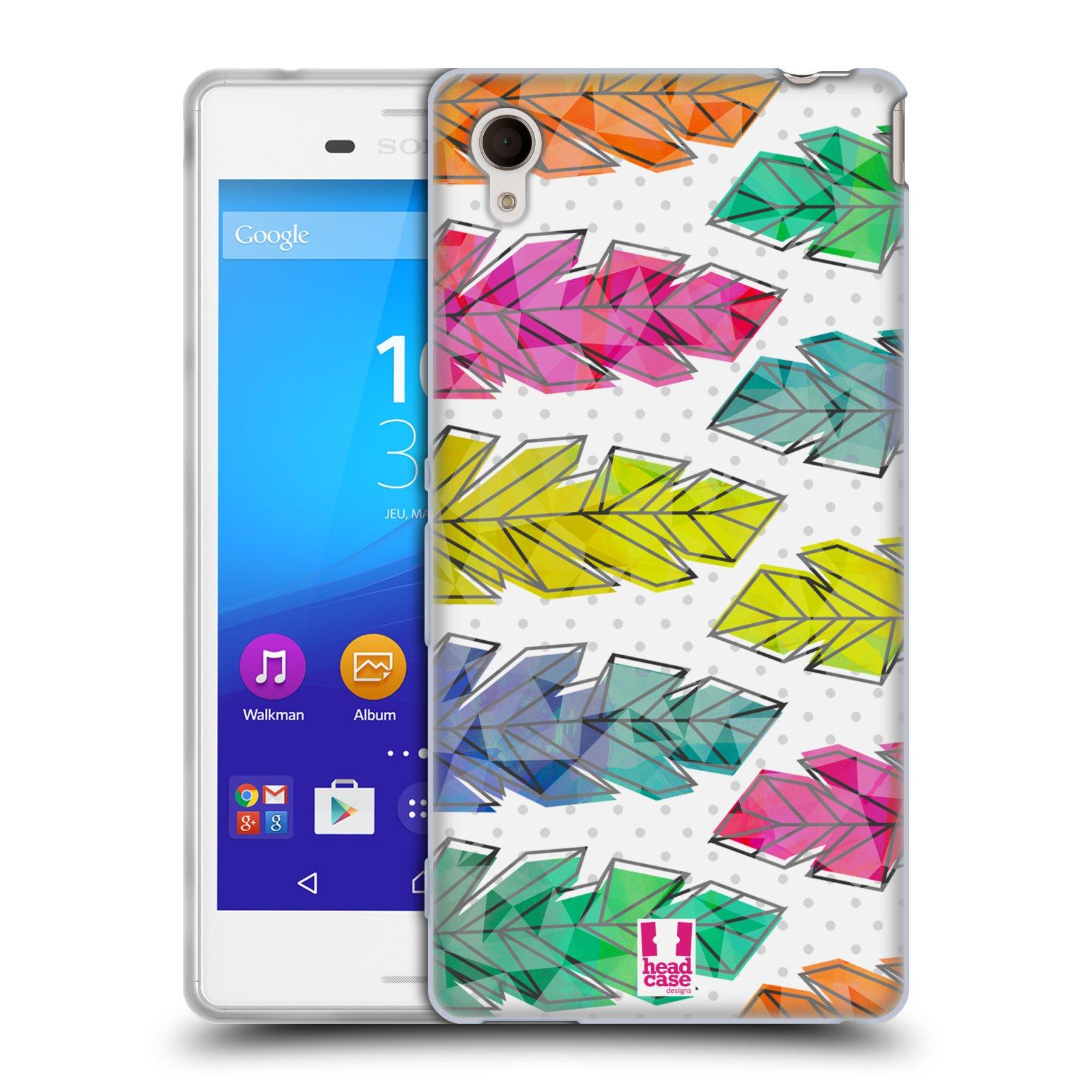 Silikonové pouzdro na mobil Sony Xperia M4 Aqua E2303 HEAD CASE PÍRKA DOODLE (Silikonový kryt či obal na mobilní telefon Sony Xperia M4 Aqua a M4 Aqua Dual SIM)