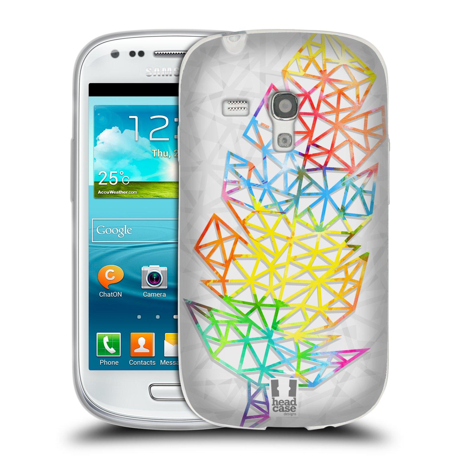Silikonové pouzdro na mobil Samsung Galaxy S III Mini HEAD CASE PÍRKA SINGLE (Silikonový kryt či obal na mobilní telefon Samsung Galaxy S III Mini GT-i8190)