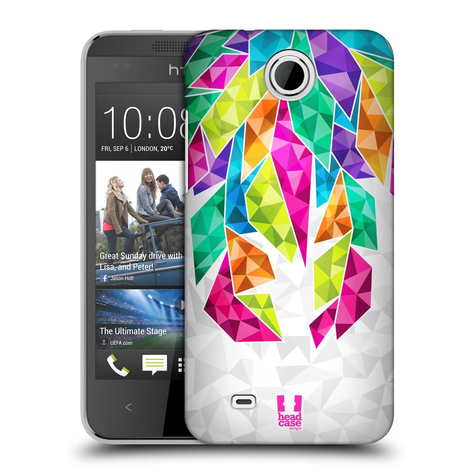 Plastové pouzdro na mobil HTC Desire 300 HEAD CASE PÍRKA TICKLE