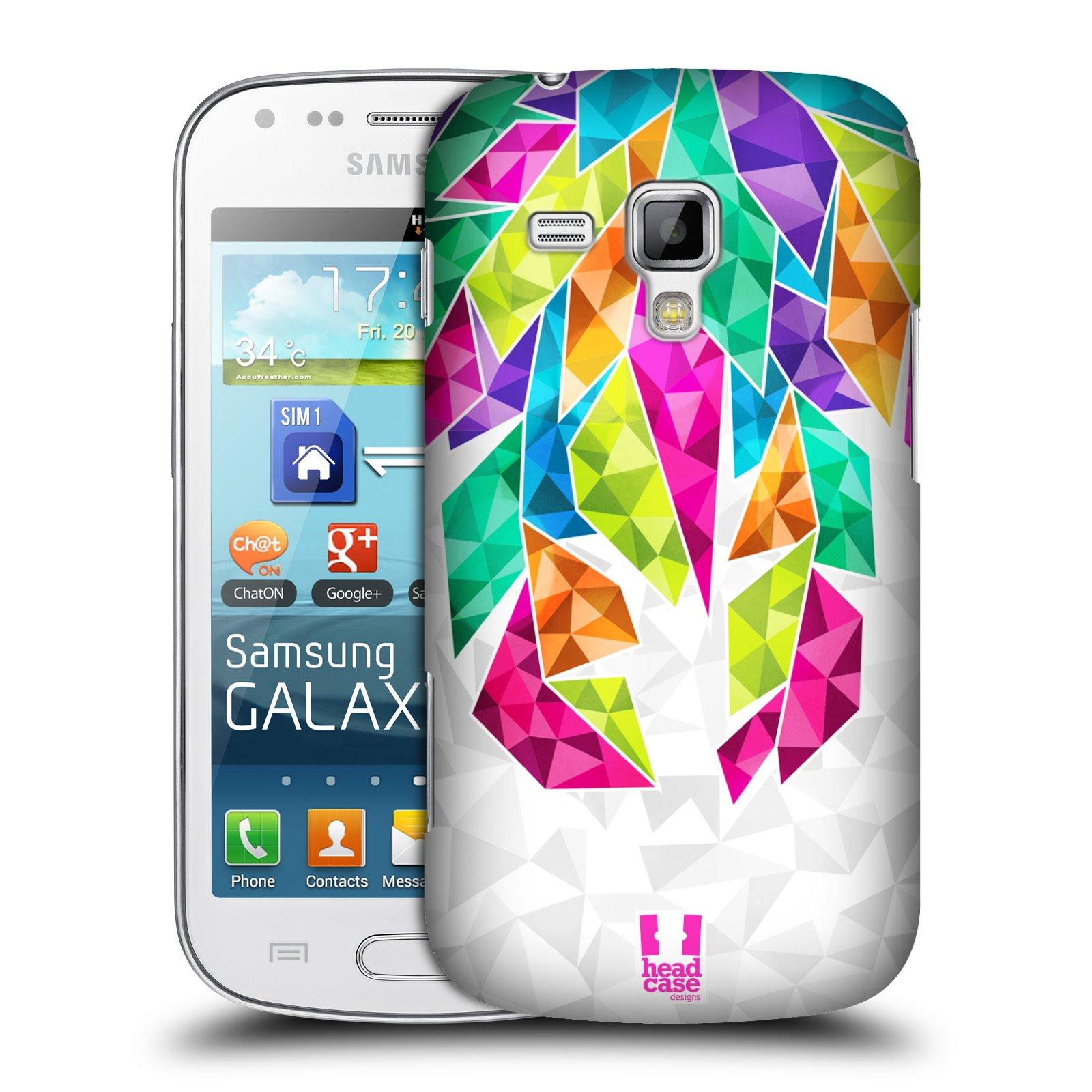 Plastové pouzdro na mobil Samsung Galaxy Trend Plus HEAD CASE PÍRKA TICKLE