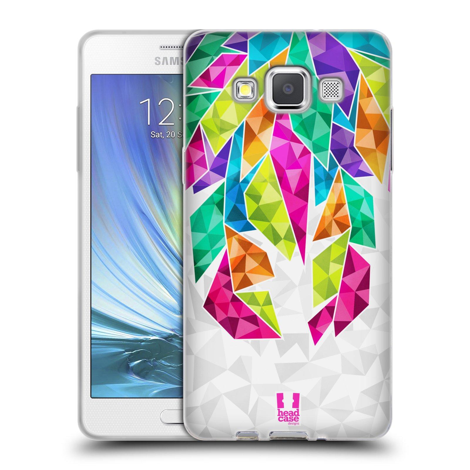 Silikonové pouzdro na mobil Samsung Galaxy A5 HEAD CASE PÍRKA TICKLE