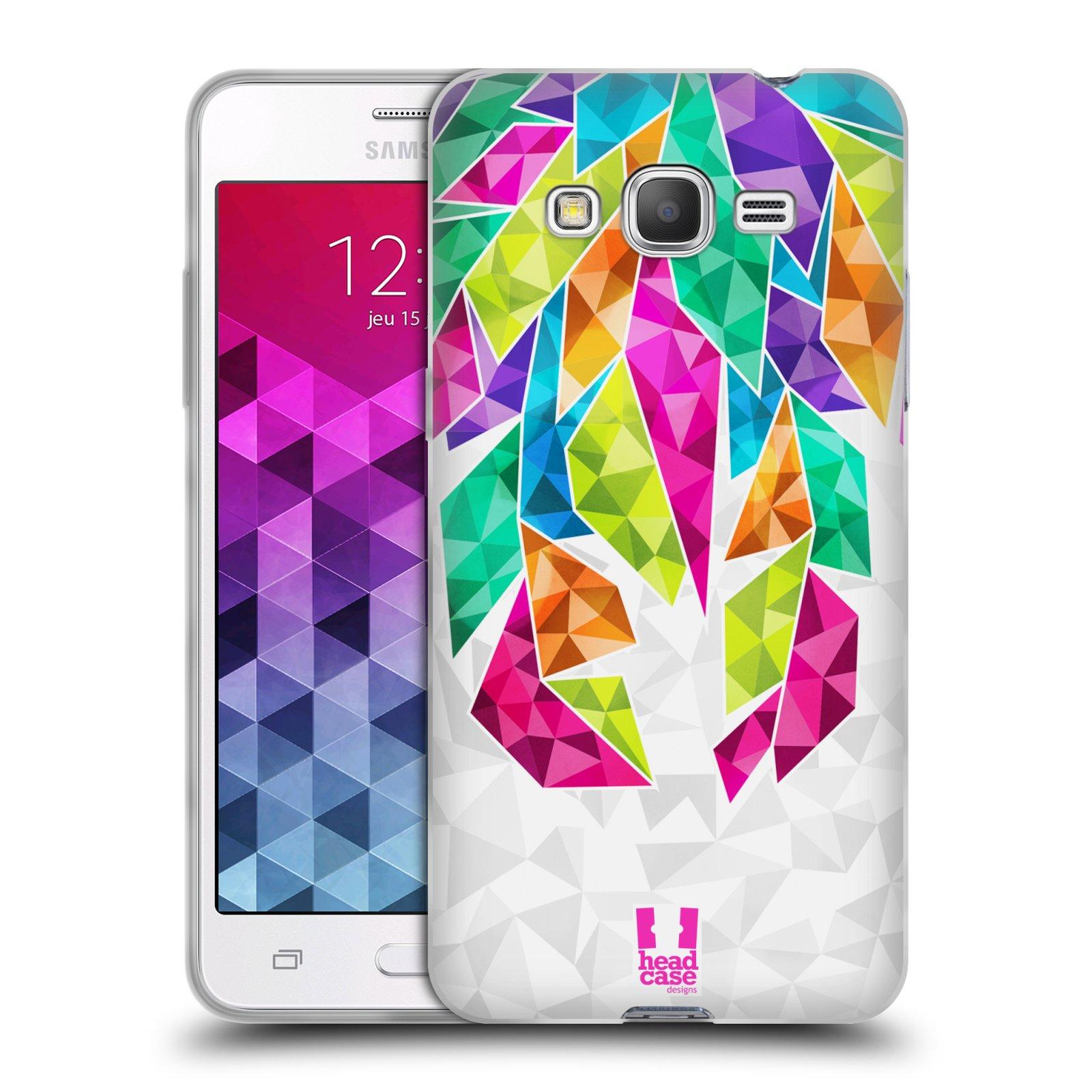Silikonové pouzdro na mobil Samsung Galaxy Grand Prime HEAD CASE PÍRKA TICKLE