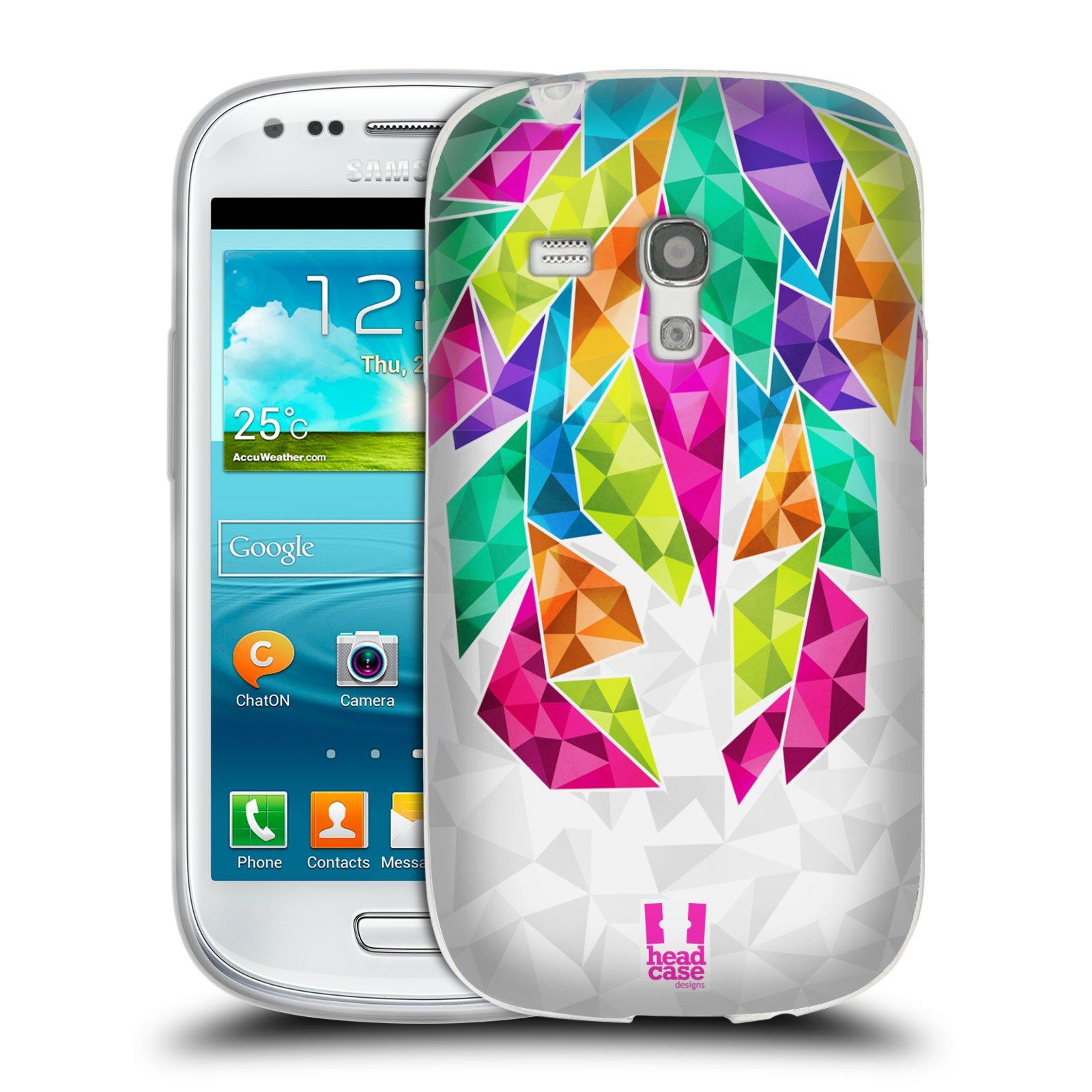 Silikonové pouzdro na mobil Samsung Galaxy S III Mini HEAD CASE PÍRKA TICKLE (Silikonový kryt či obal na mobilní telefon Samsung Galaxy S III Mini GT-i8190)