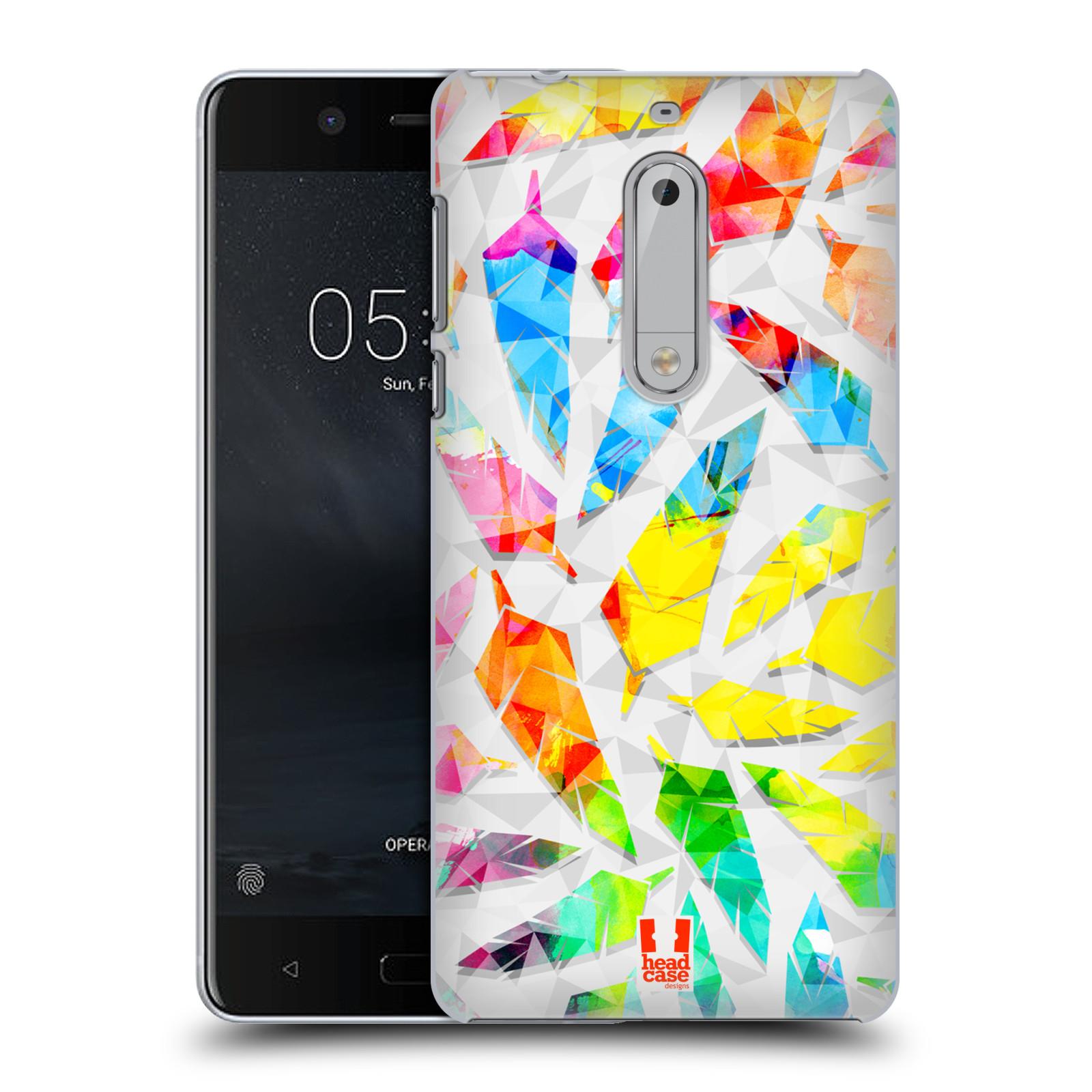 Plastové pouzdro na mobil Nokia 5 Head Case - PÍRKA WATERCOLOUR (Plastový kryt či obal na mobilní telefon Nokia 5 (2017))
