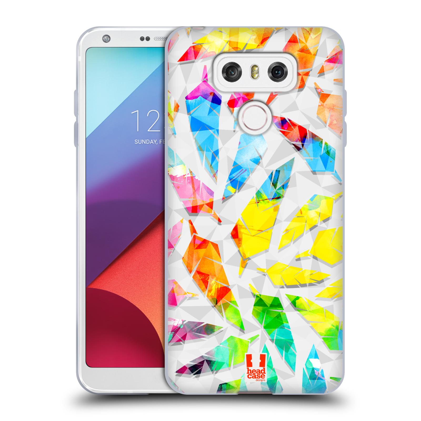 Silikonové pouzdro na mobil LG G6 - Head Case PÍRKA WATERCOLOUR (Silikonový kryt či obal na mobilní telefon LG G6 H870 / LG G6 Dual SIM H870DS)