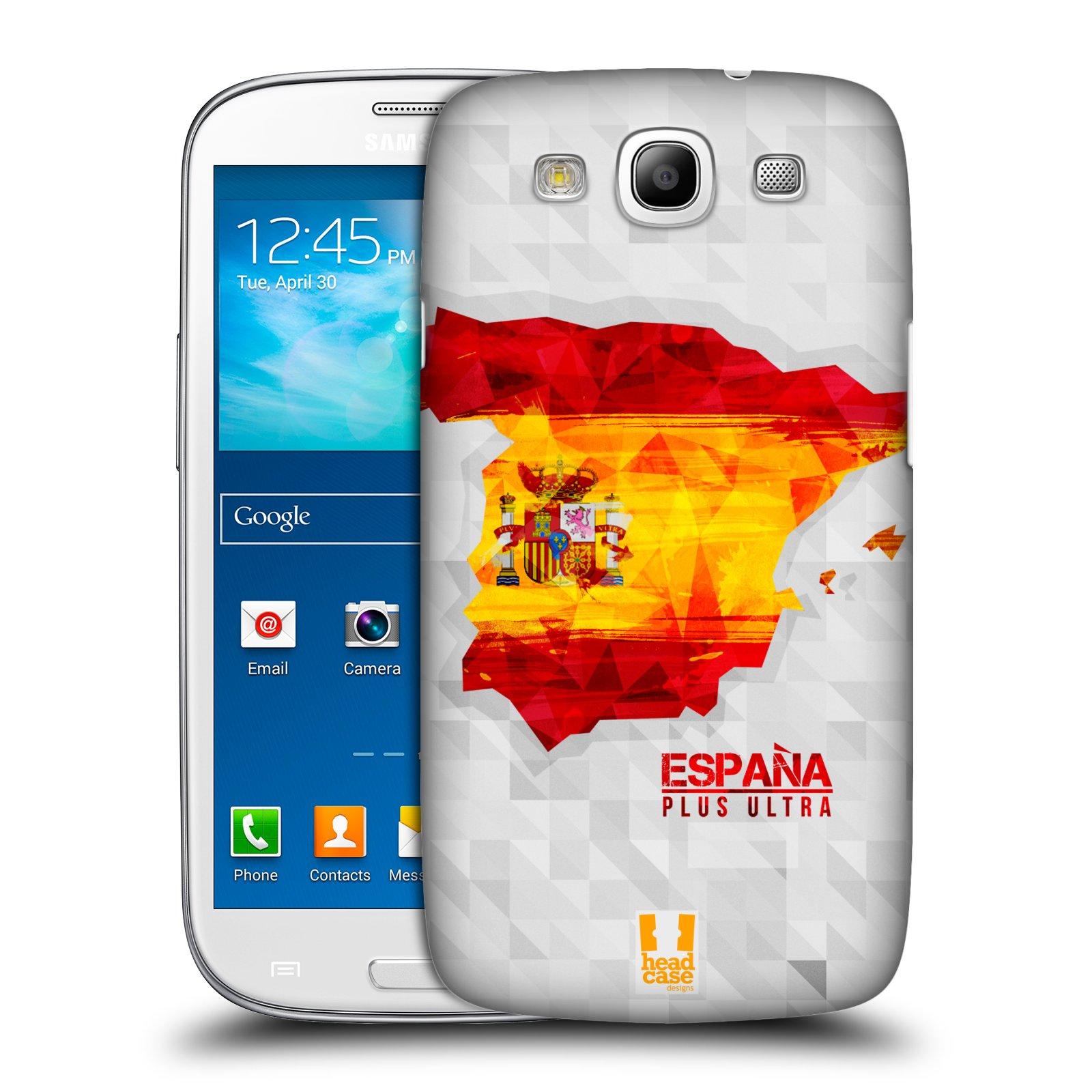 Plastové pouzdro na mobil Samsung Galaxy S3 Neo HEAD CASE GEOMAPA ŠPANĚLSKO
