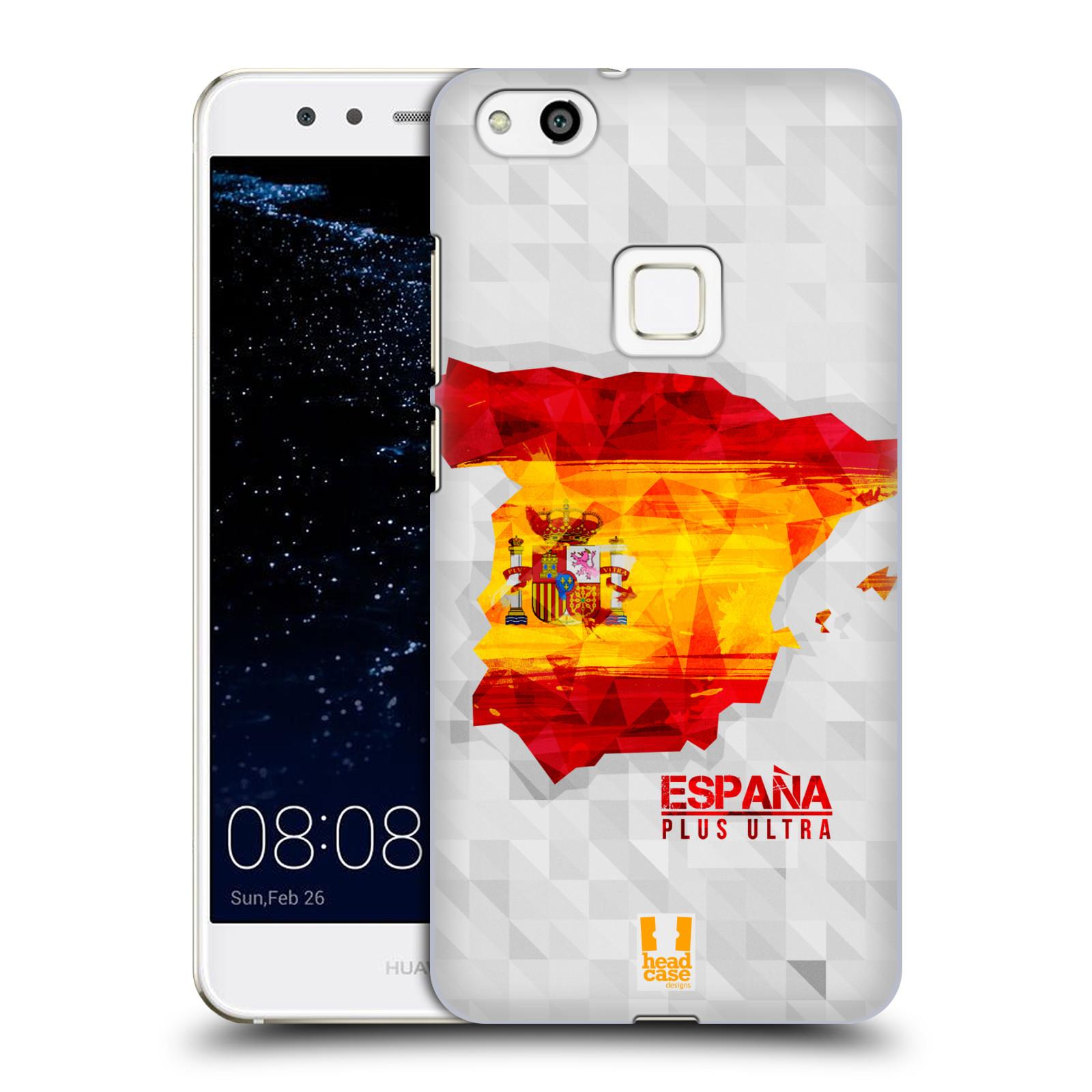 Plastové pouzdro na mobil Huawei P10 Lite Head Case - GEOMAPA ŠPANĚLSKO (Plastový kryt či obal na mobilní telefon Huawei P10 Lite Dual SIM (LX1/LX1A))
