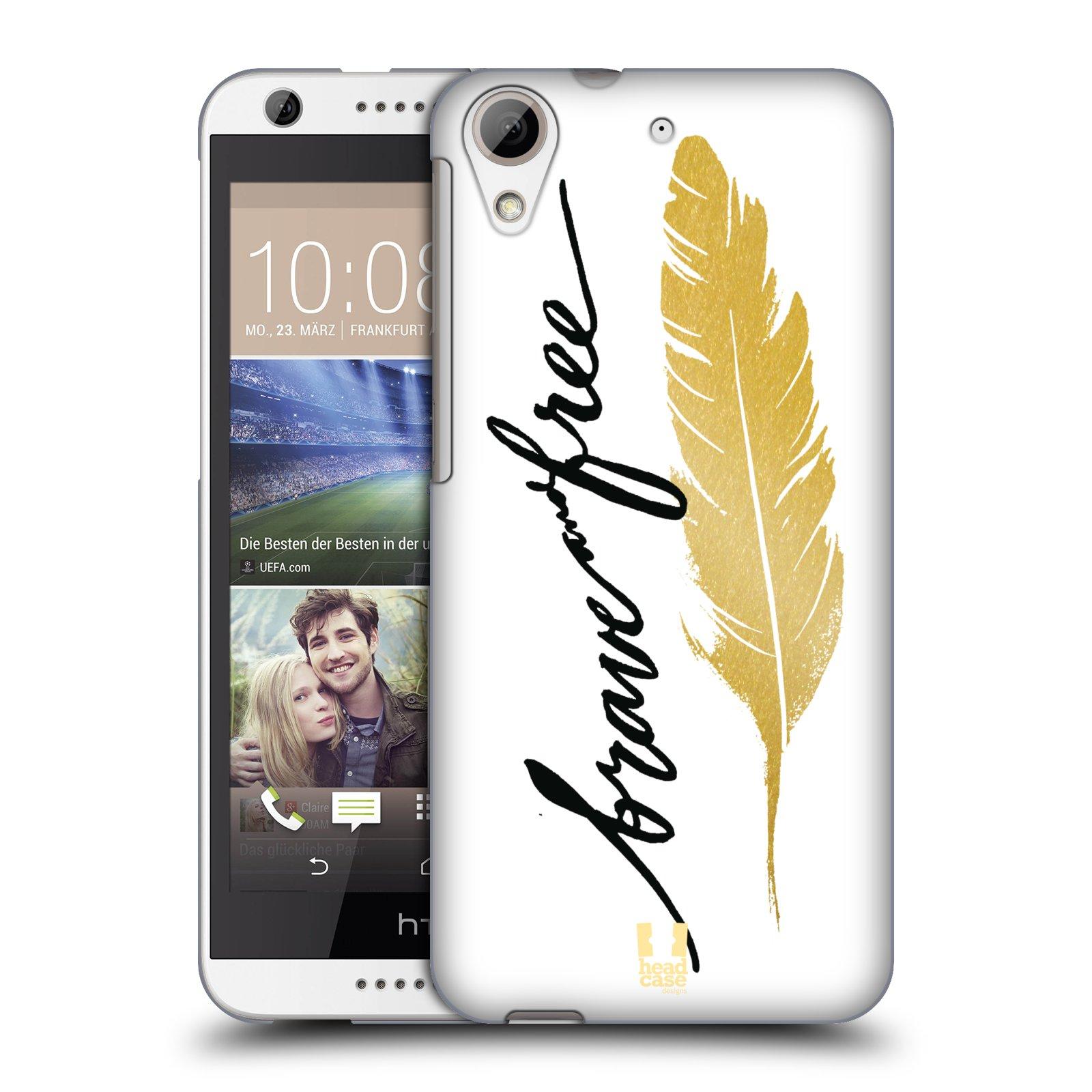 Plastové pouzdro na mobil HTC Desire 626 / 626G HEAD CASE PÍRKO ZLATÉ FREE (Kryt či obal na mobilní telefon HTC Desire 626G Dual SIM a HTC Desire 626)