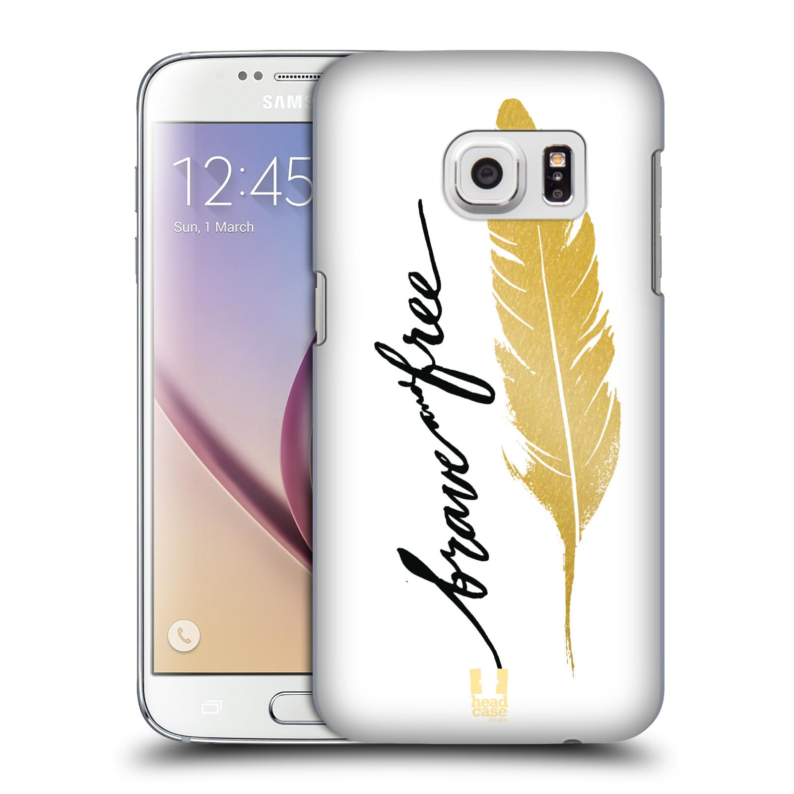 Plastové pouzdro na mobil Samsung Galaxy S7 HEAD CASE PÍRKO ZLATÉ FREE (Kryt či obal na mobilní telefon Samsung Galaxy S7 SM-G930F)