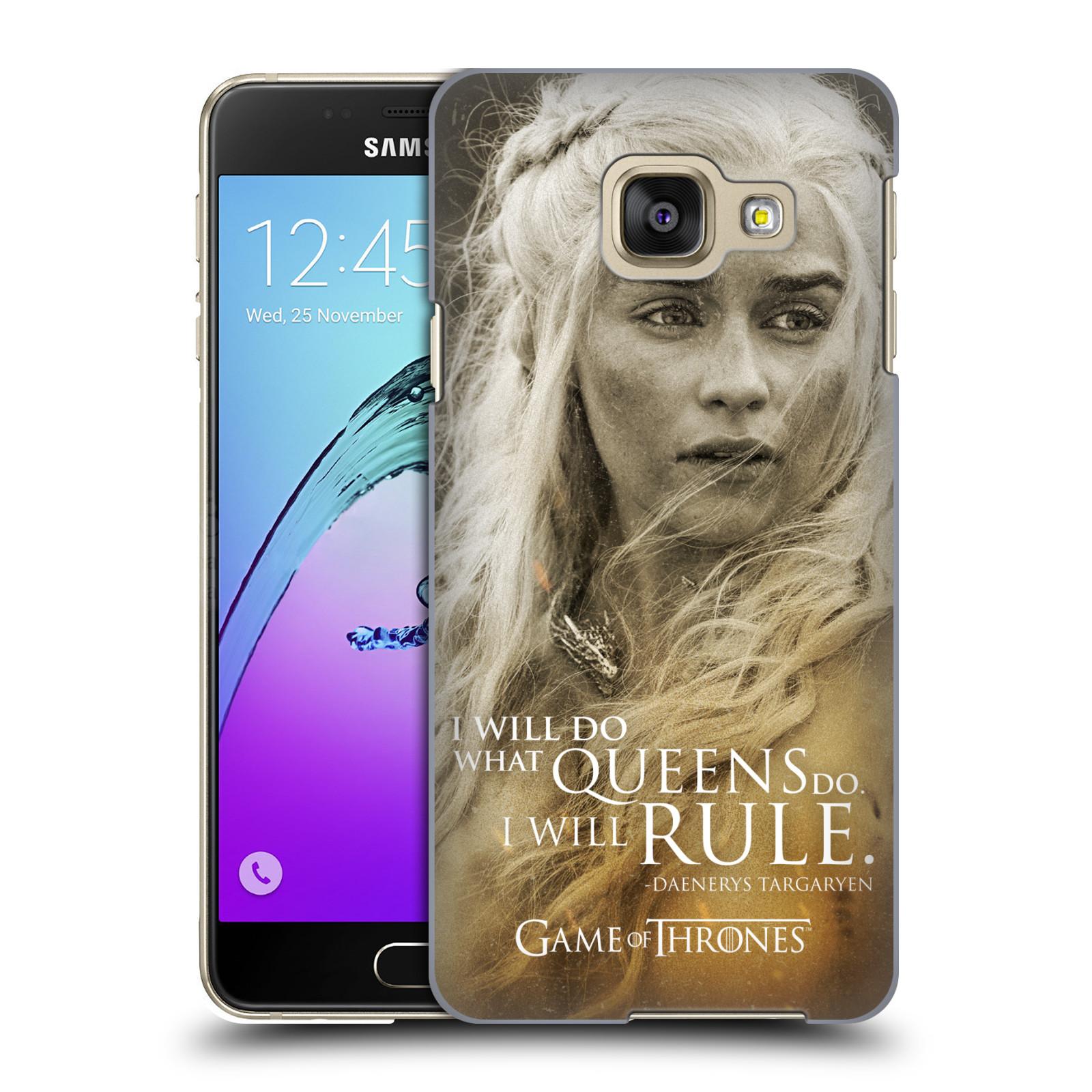 Plastové pouzdro na mobil Samsung Galaxy A3 (2016) HEAD CASE Hra o trůny - Daenerys Targaryen