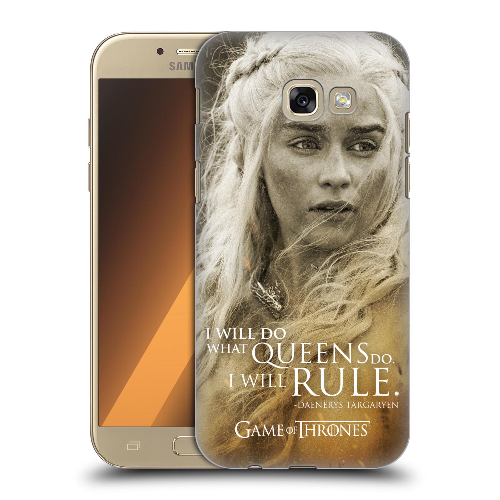 Plastové pouzdro na mobil Samsung Galaxy A5 (2017) HEAD CASE Hra o trůny - Daenerys Targaryen