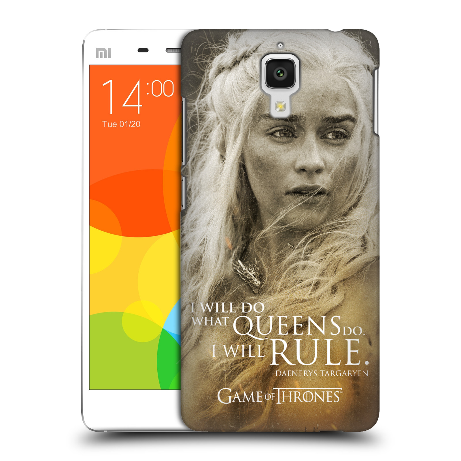 Plastové pouzdro na mobil Xiaomi Mi4 HEAD CASE Hra o trůny - Daenerys Targaryen