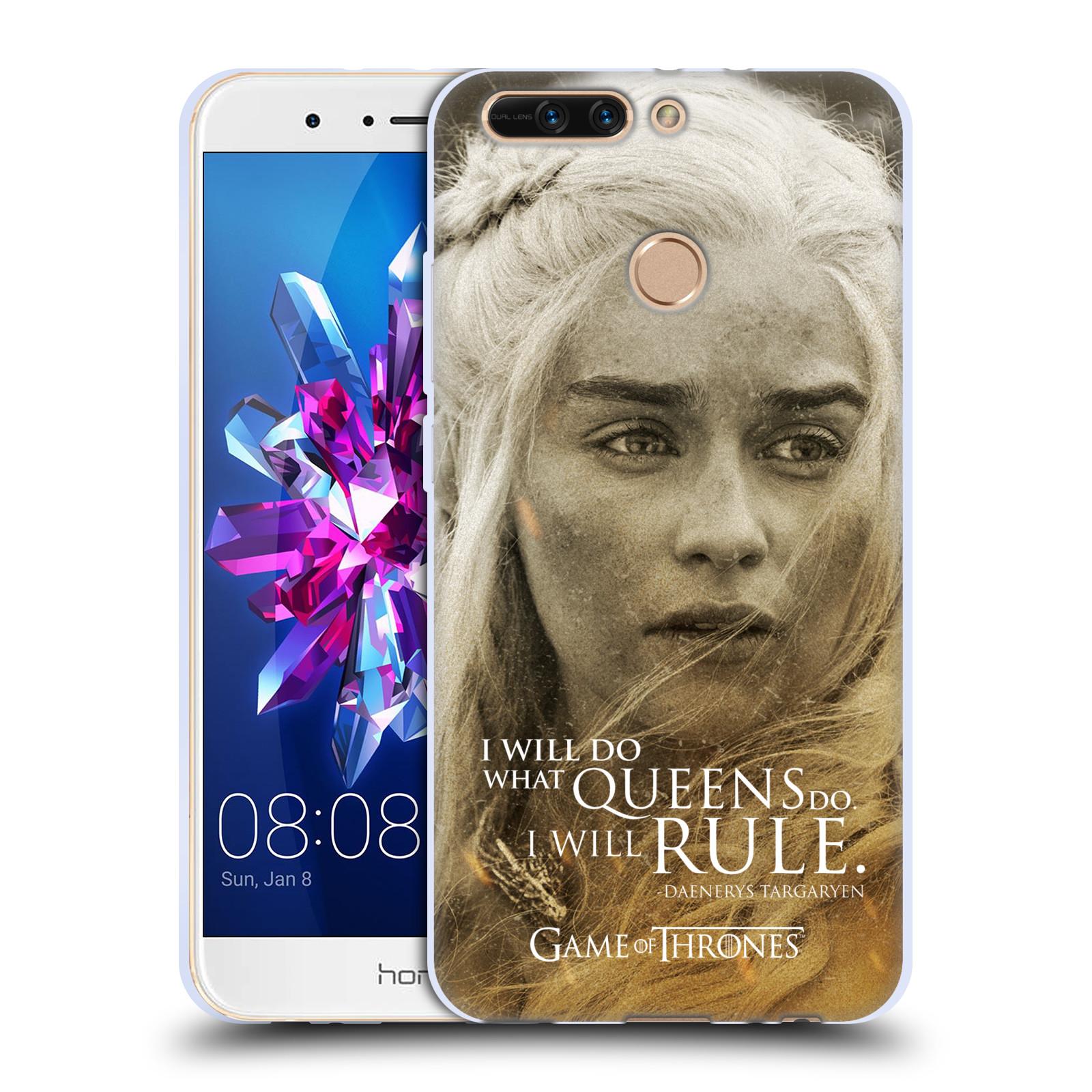 Silikonové pouzdro na mobil Honor 8 Pro - Head Case - Hra o trůny - Daenerys Targaryen