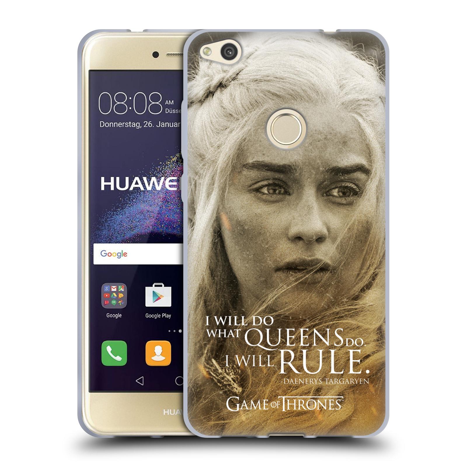 Silikonové pouzdro na mobil Huawei P9 Lite (2017) HEAD CASE Hra o trůny - Daenerys Targaryen