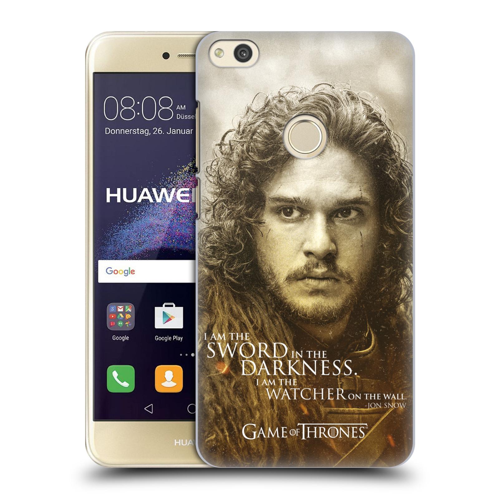 Plastové pouzdro na mobil Huawei P9 Lite (2017) - Head Case Hra o trůny - Jon Snow
