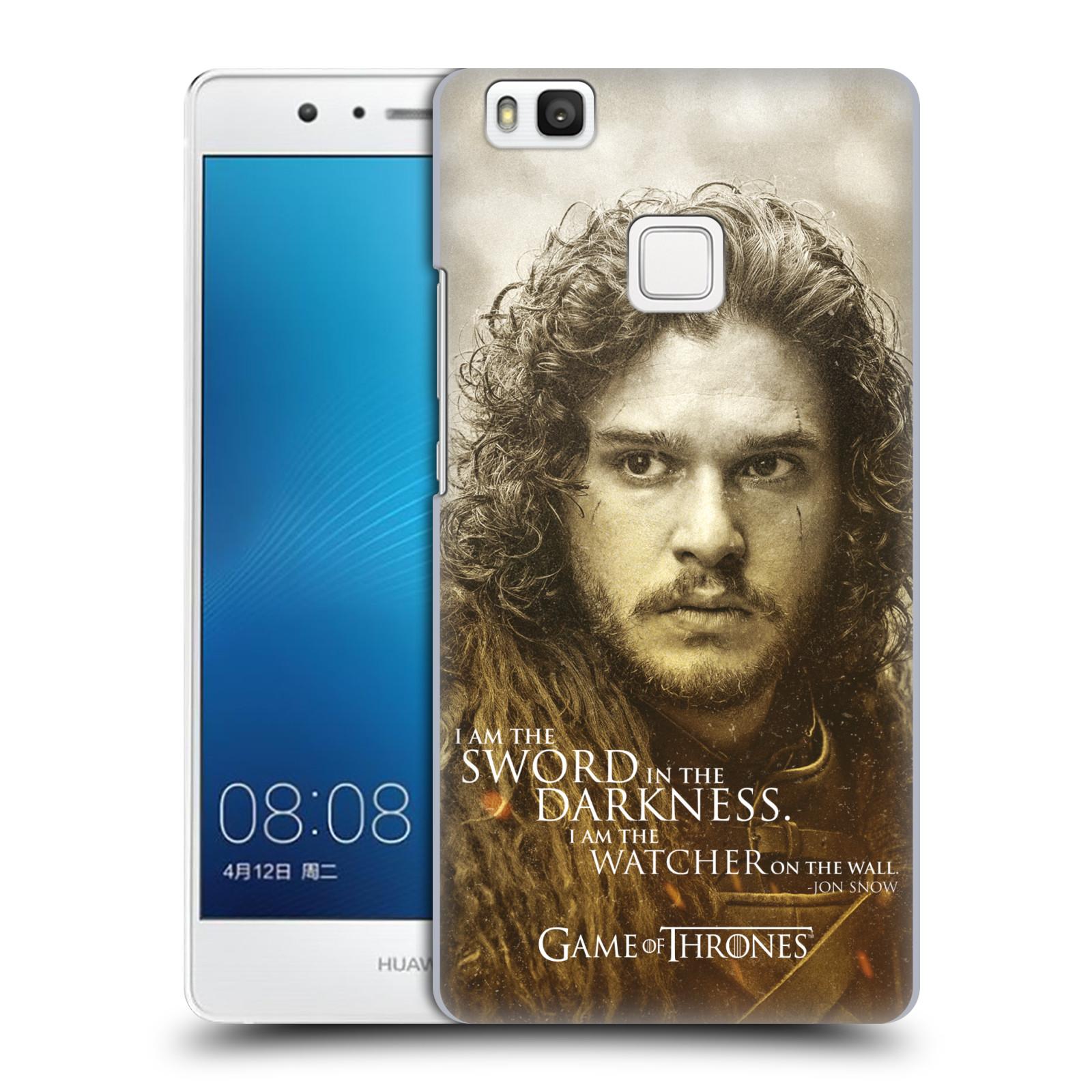 Plastové pouzdro na mobil Huawei P9 Lite HEAD CASE Hra o trůny - Jon Snow