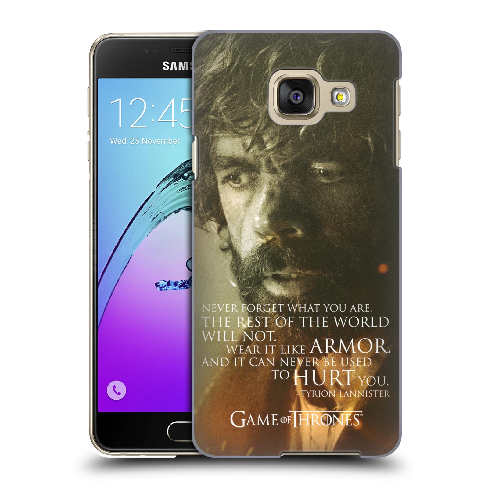 Plastové pouzdro na mobil Samsung Galaxy A3 (2016) HEAD CASE Hra o trůny - Tyrion Lannister