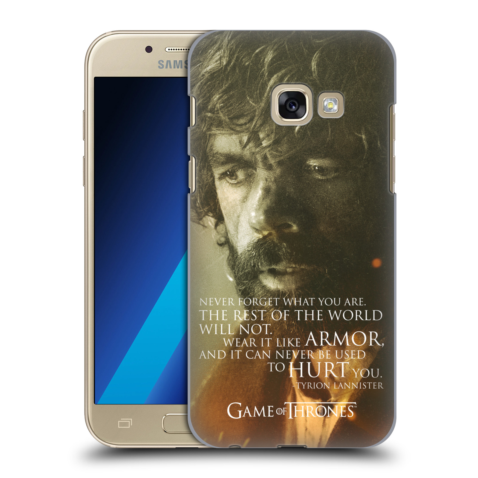 Plastové pouzdro na mobil Samsung Galaxy A3 (2017) HEAD CASE Hra o trůny - Tyrion Lannister