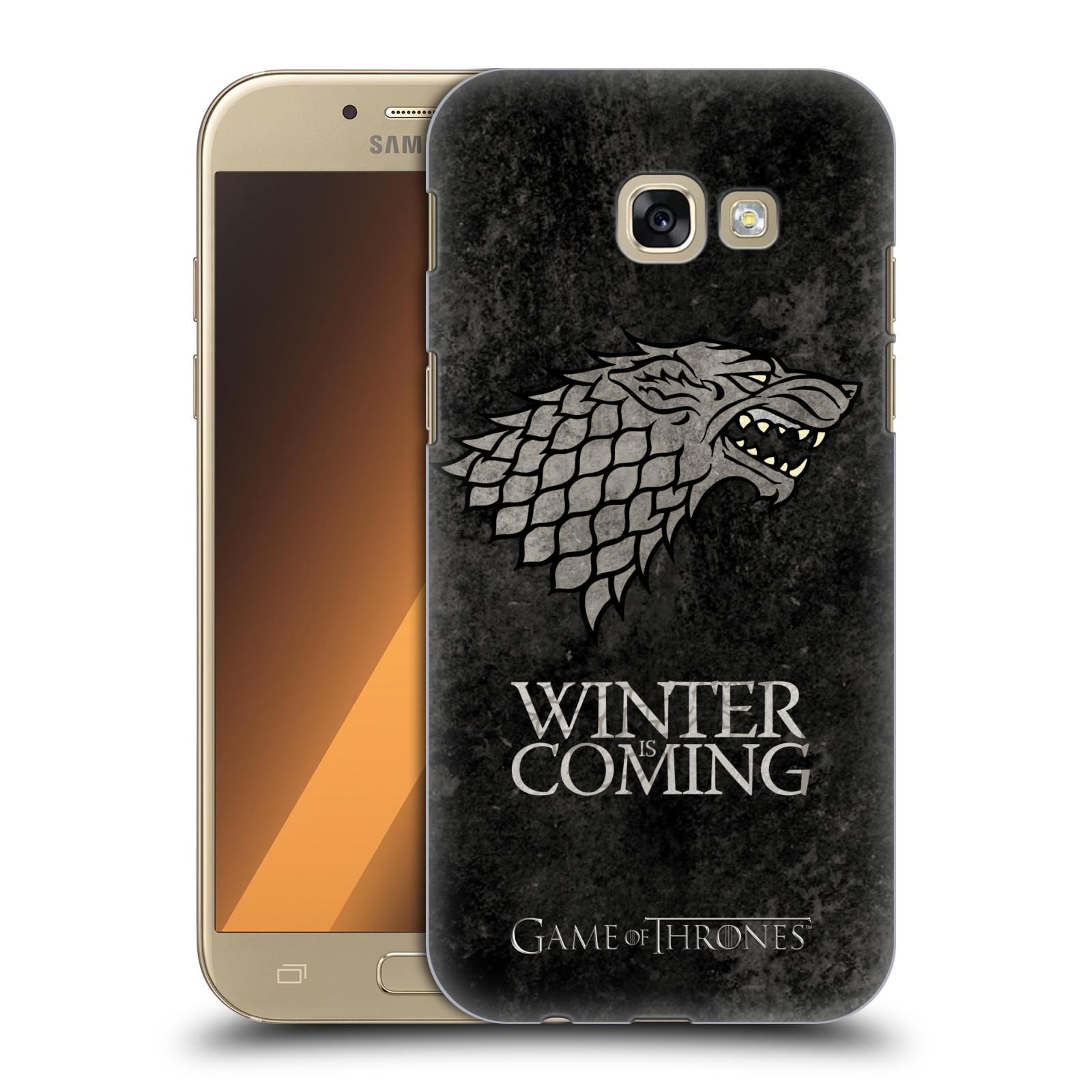 Plastové pouzdro na mobil Samsung Galaxy A5 (2017) HEAD CASE Hra o trůny - Stark - Winter is coming