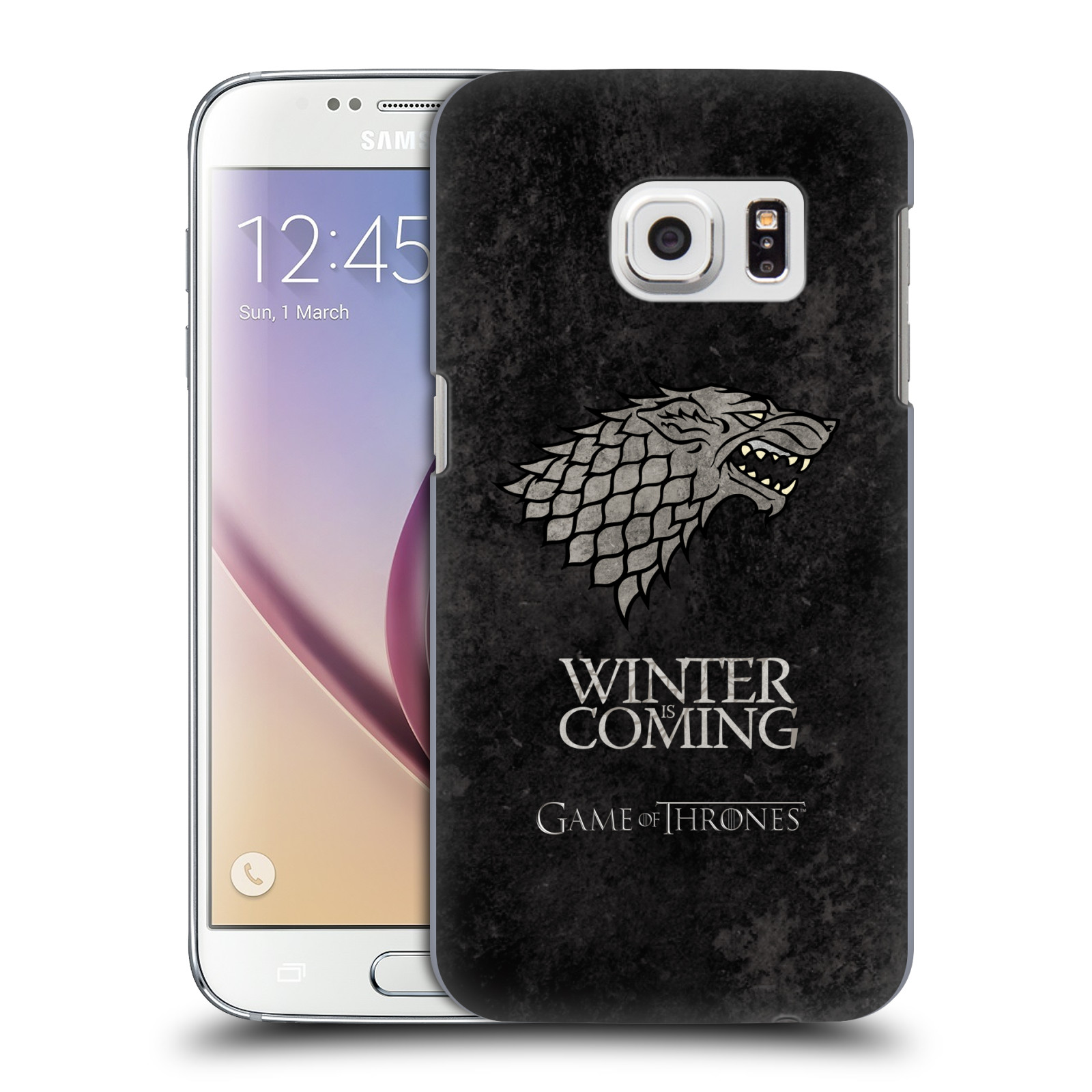 Plastové pouzdro na mobil Samsung Galaxy S7 HEAD CASE Hra o trůny - Stark - Winter is coming