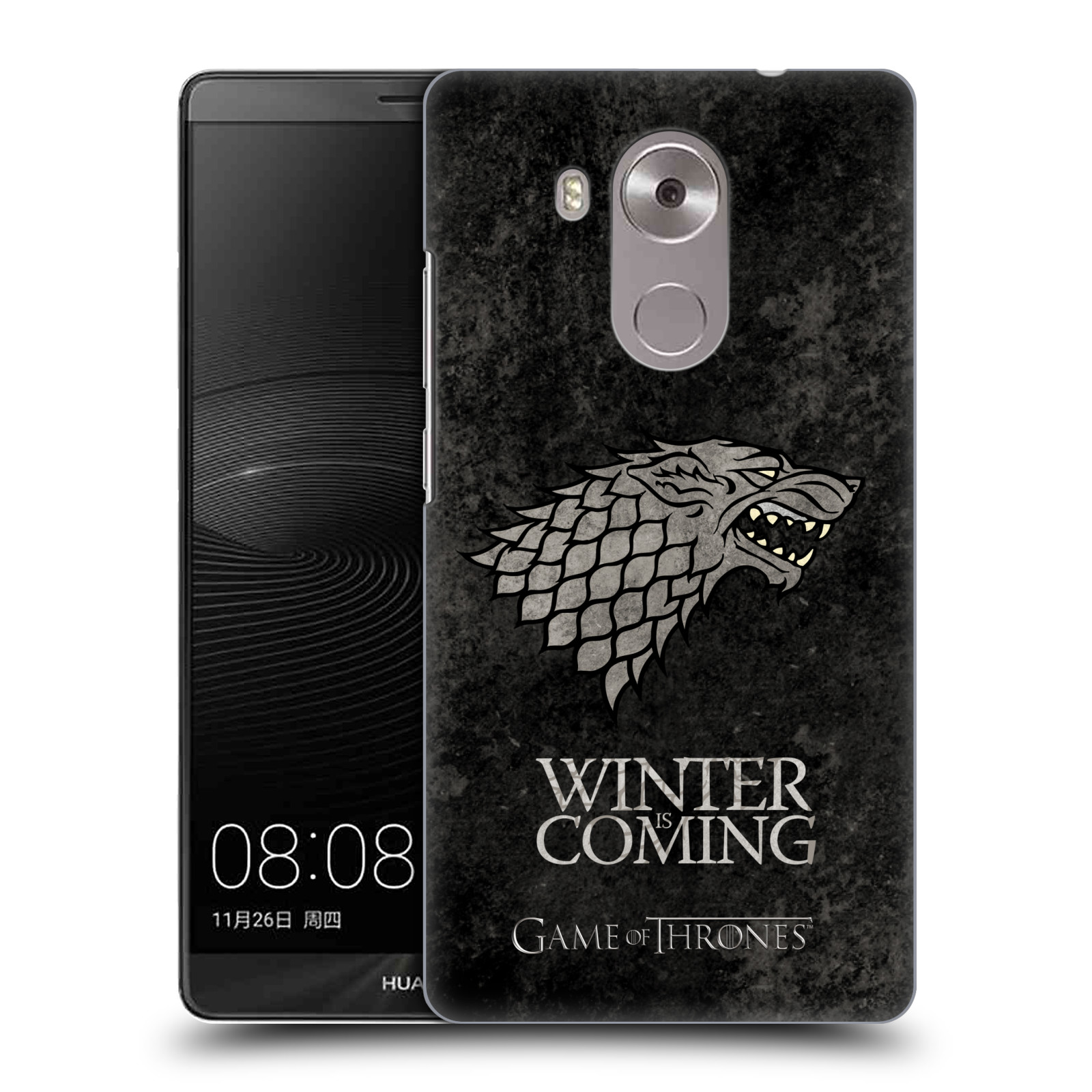 Plastové pouzdro na mobil Huawei Mate 8 HEAD CASE Hra o trůny - Stark - Winter is coming