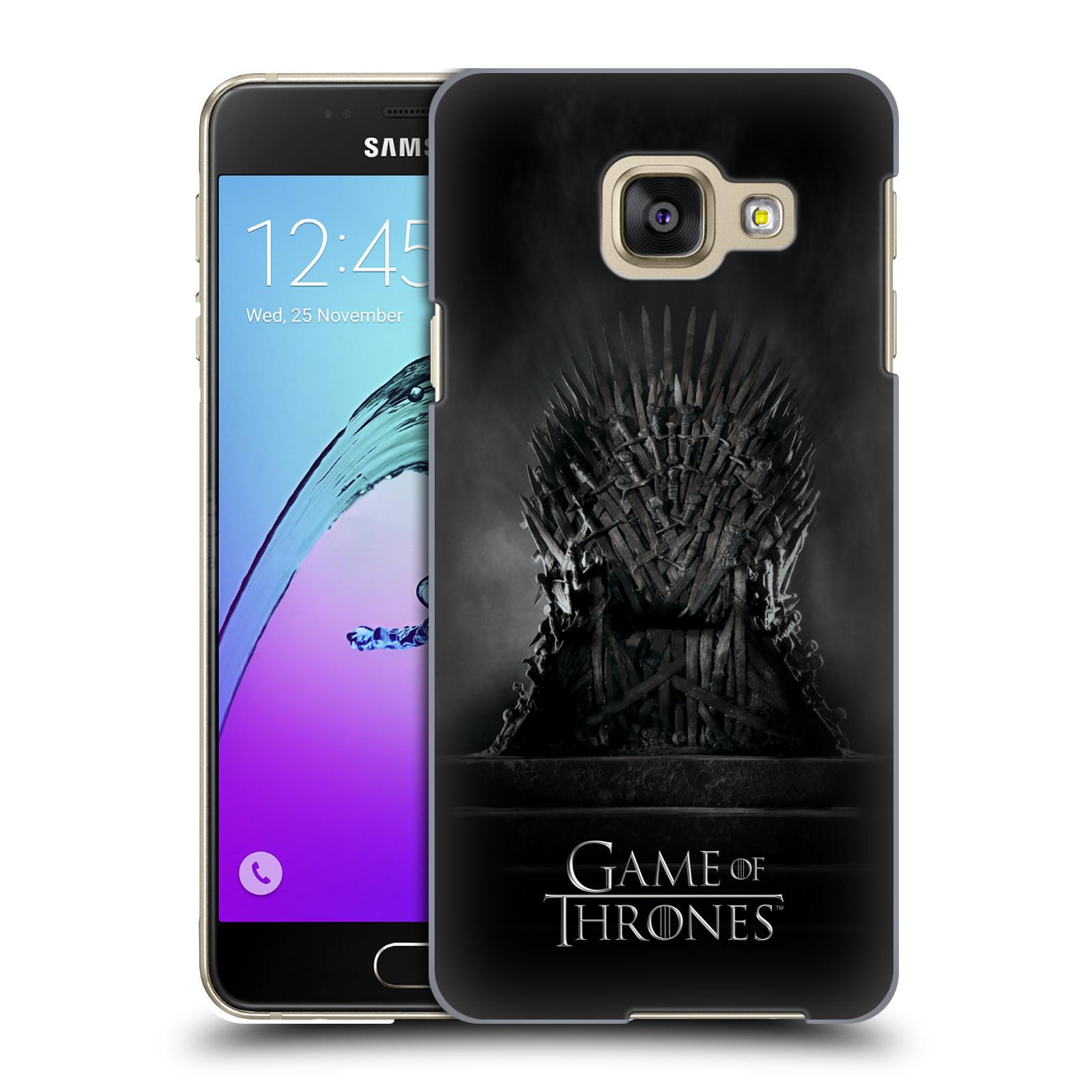 Plastové pouzdro na mobil Samsung Galaxy A3 (2016) HEAD CASE Hra o trůny - Železný trůn