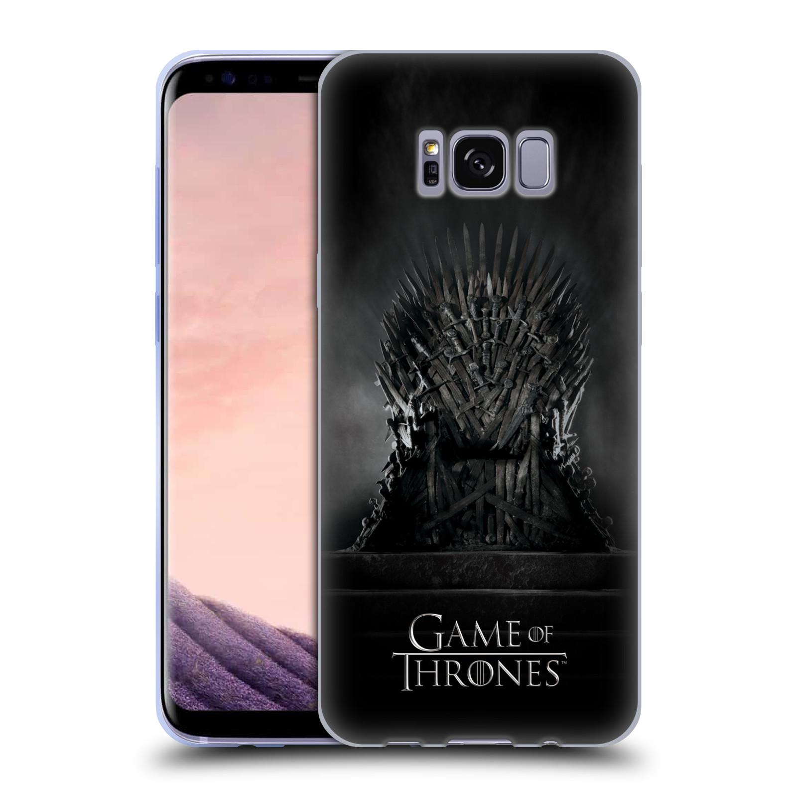 Silikonové pouzdro na mobil Samsung Galaxy S8 Head Case Hra o trůny – Železný trůn