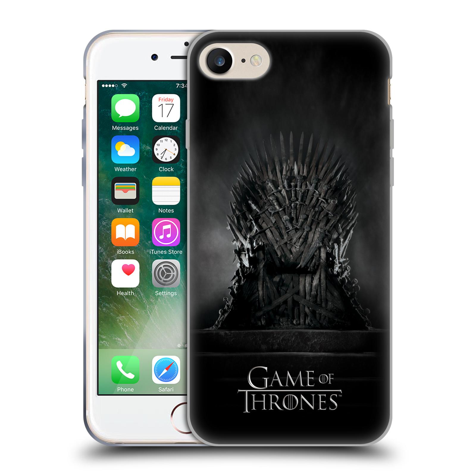 Silikonové pouzdro na mobil Apple iPhone 7 HEAD CASE Hra o trůny – Železný  trůn empty ac842cece8d