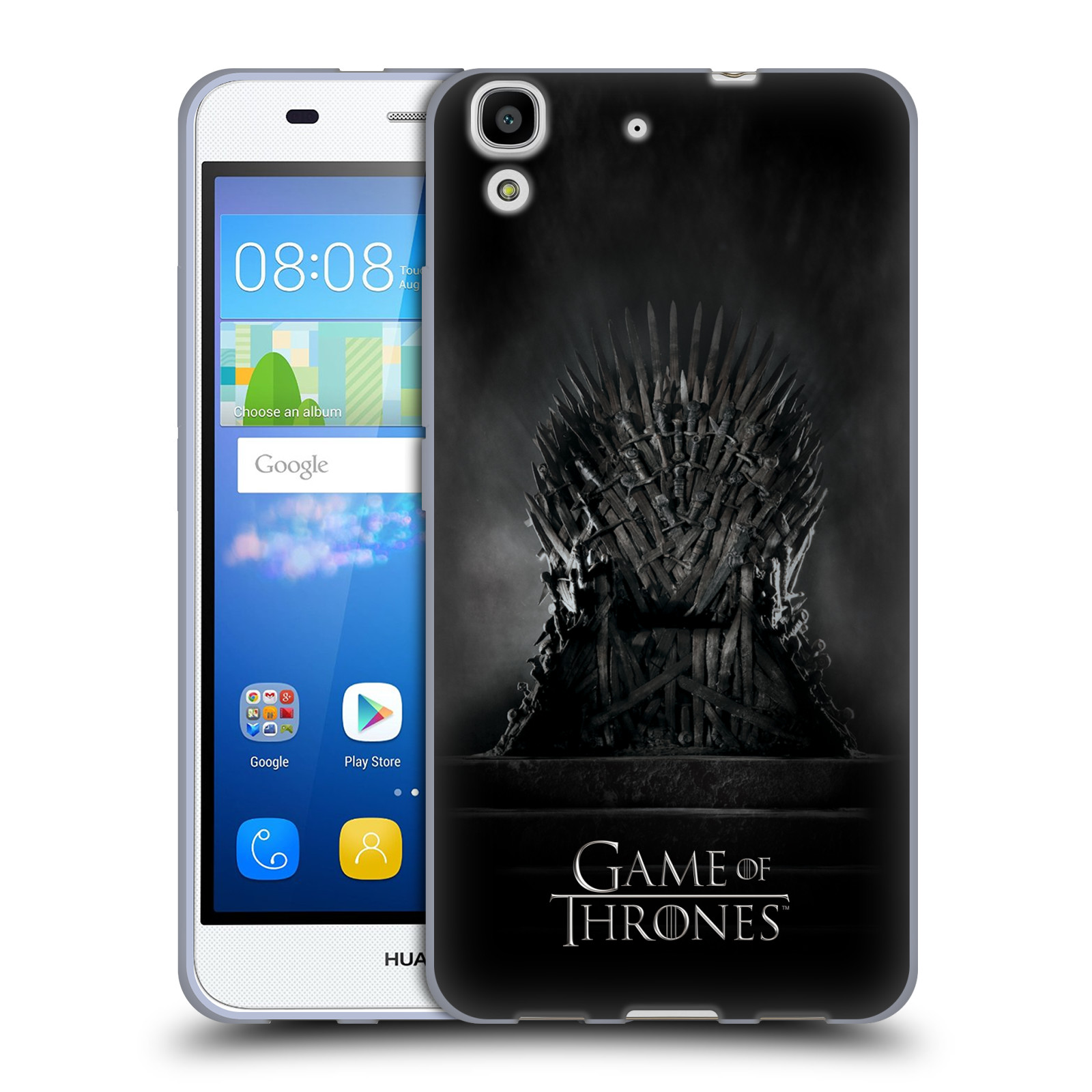 Silikonové pouzdro na mobil Huawei Y6 HEAD CASE Hra o trůny - Železný trůn