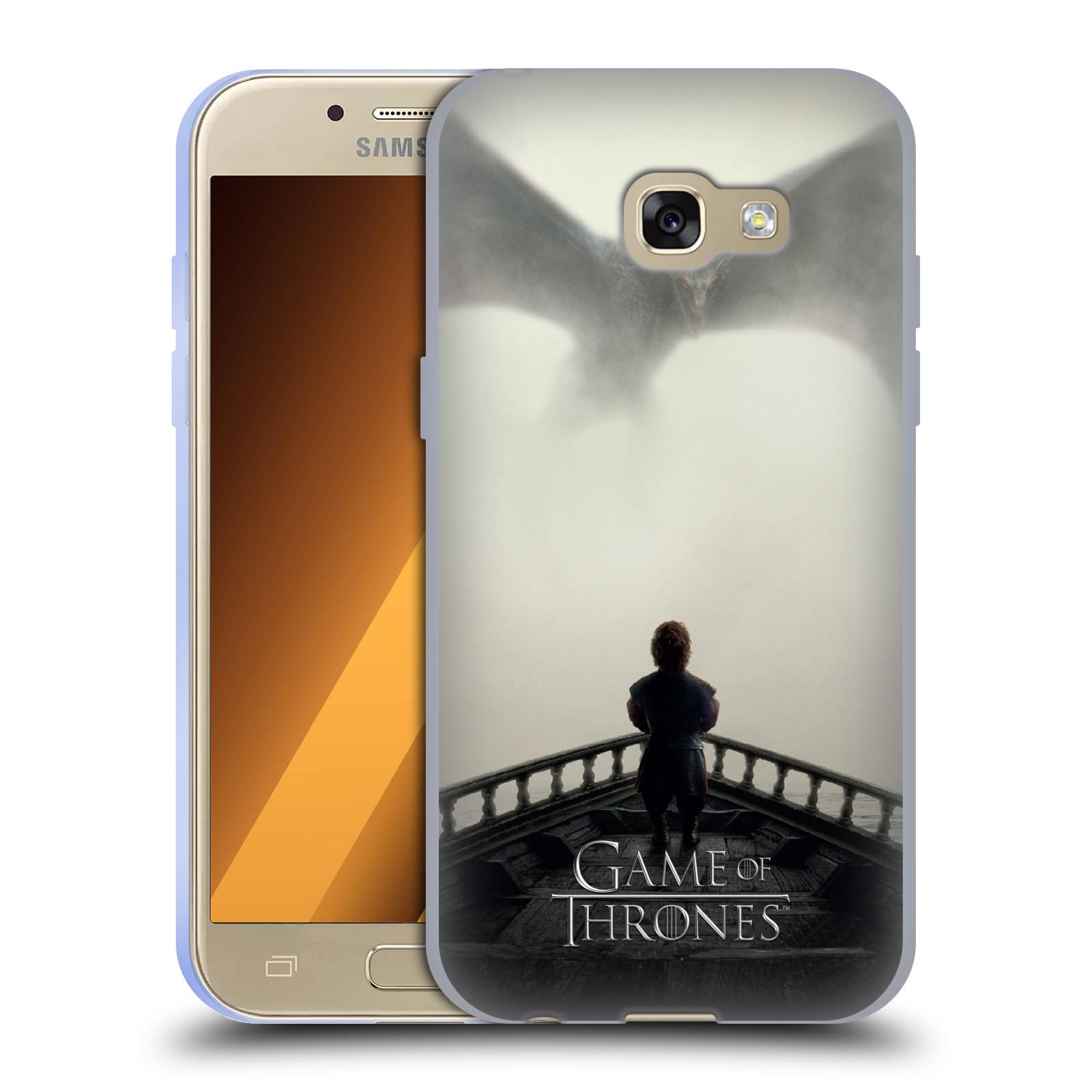 Silikonové pouzdro na mobil Samsung Galaxy A3 (2017) HEAD CASE Hra o trůny – Vengeance