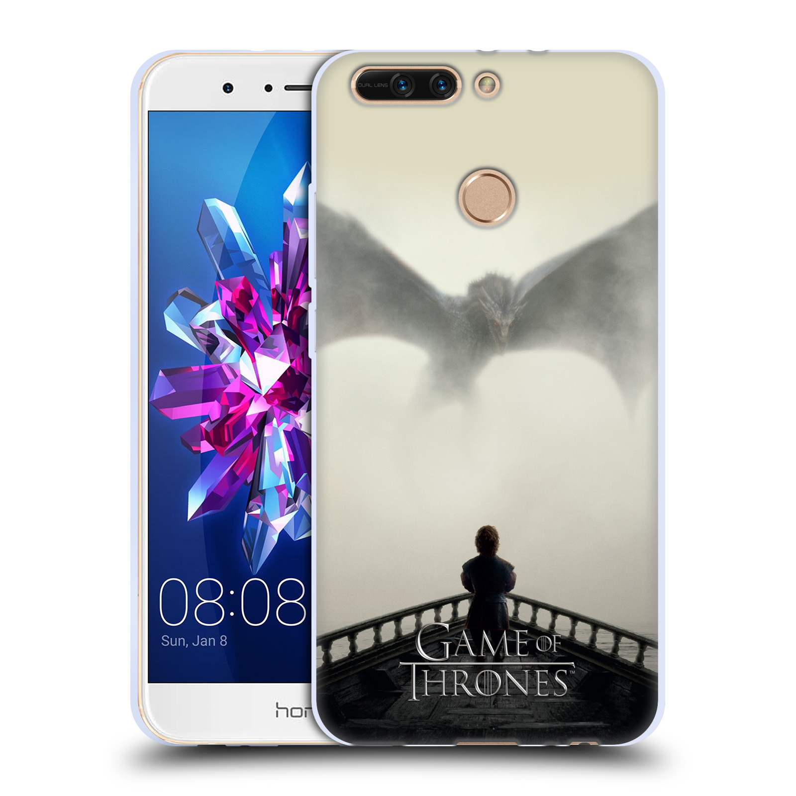 Silikonové pouzdro na mobil Honor 8 Pro - Head Case - Hra o trůny - Vengeance