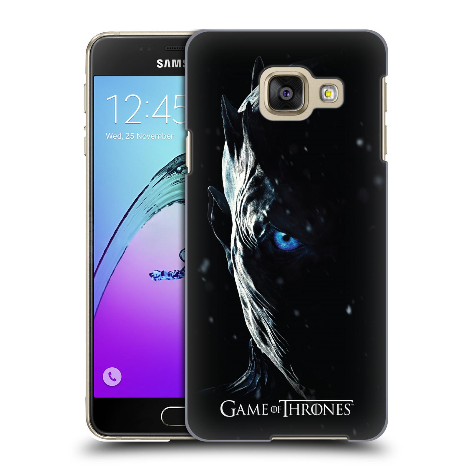 Plastové pouzdro na mobil Samsung Galaxy A3 (2016) - Head Case - Hra o trůny - Night King