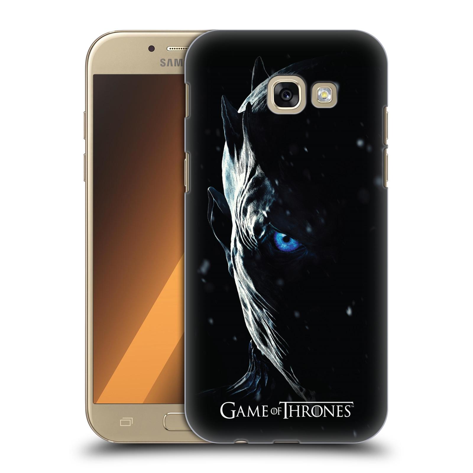 Plastové pouzdro na mobil Samsung Galaxy A5 (2017) - Head Case - Hra o trůny - Night King