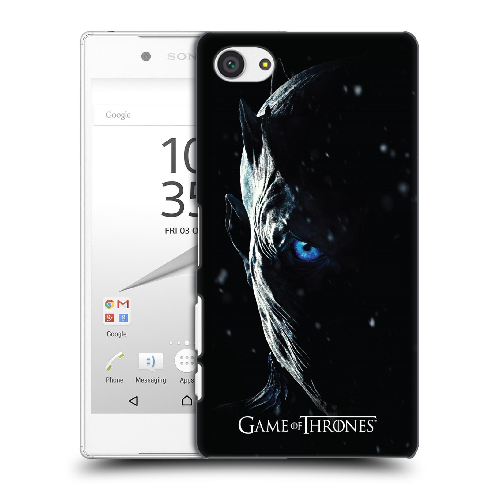 Plastové pouzdro na mobil Sony Xperia Z5 Compact - Head Case - Hra o trůny - Night King