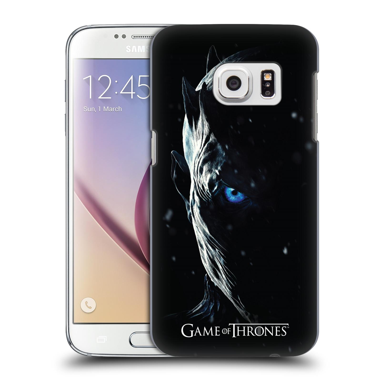 Plastové pouzdro na mobil Samsung Galaxy S7 - Head Case - Hra o trůny - Night King