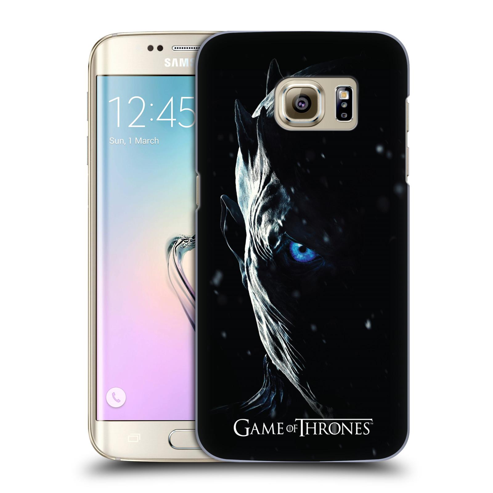 Plastové pouzdro na mobil Samsung Galaxy S7 Edge - Head Case - Hra o trůny - Night King (Plastový kryt či obal na mobilní telefon s motivem Game of Thrones - Night King - Season 7 pro Samsung Galaxy S7 Edge SM-G935F)