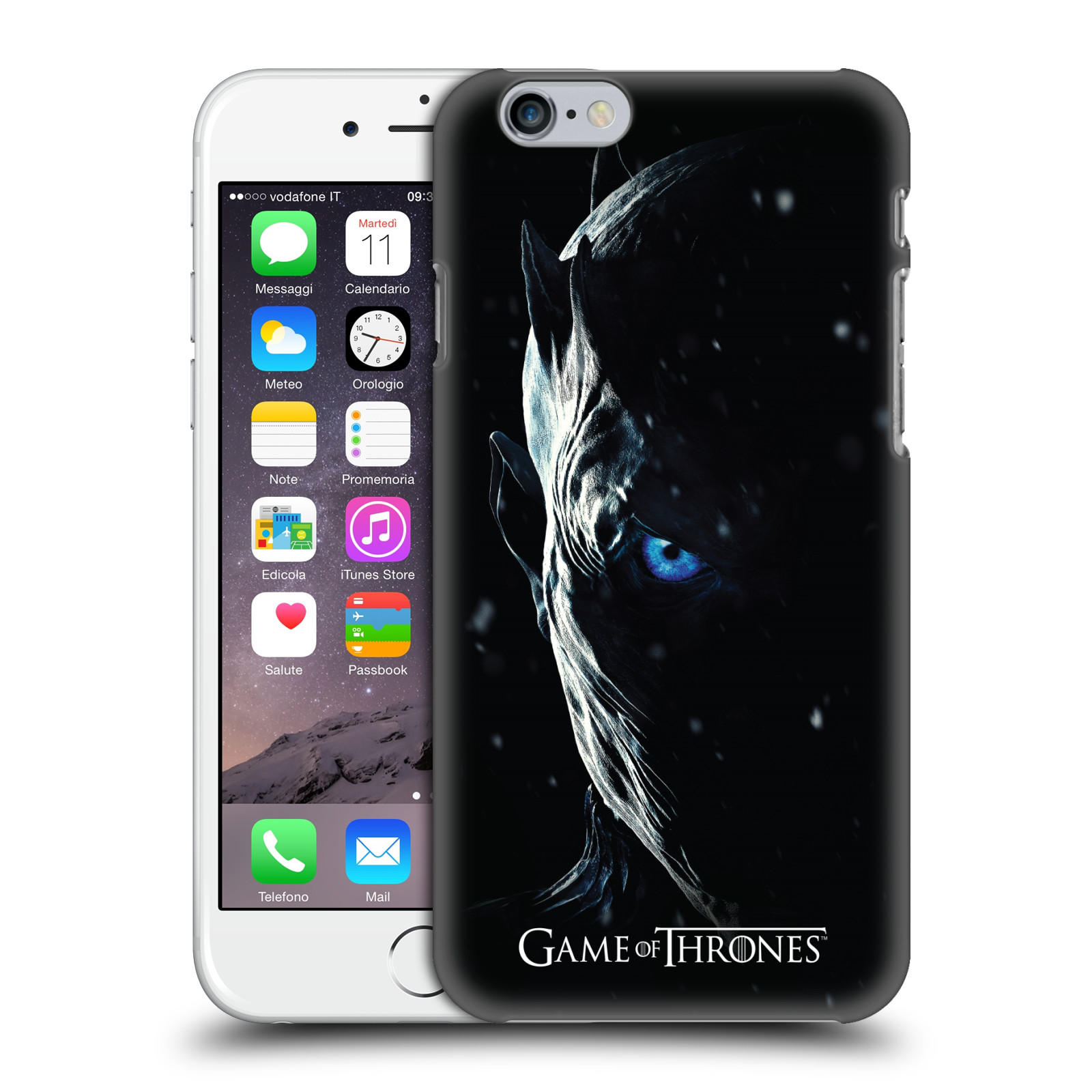 Plastové pouzdro na mobil Apple iPhone 6 - Head Case - Hra o trůny - Night King