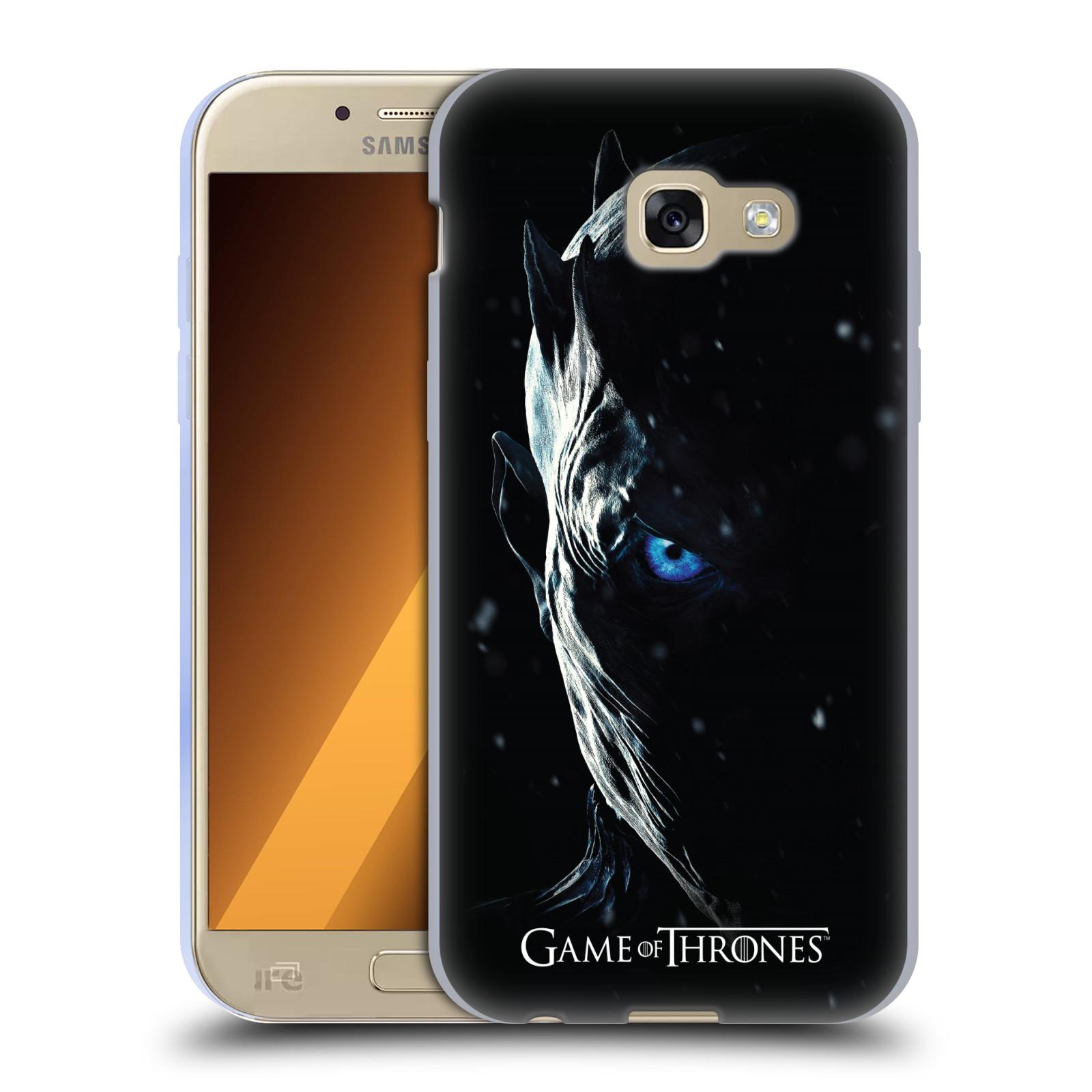 Silikonové pouzdro na mobil Samsung Galaxy A5 (2017) - Head Case - Hra o trůny - Night King