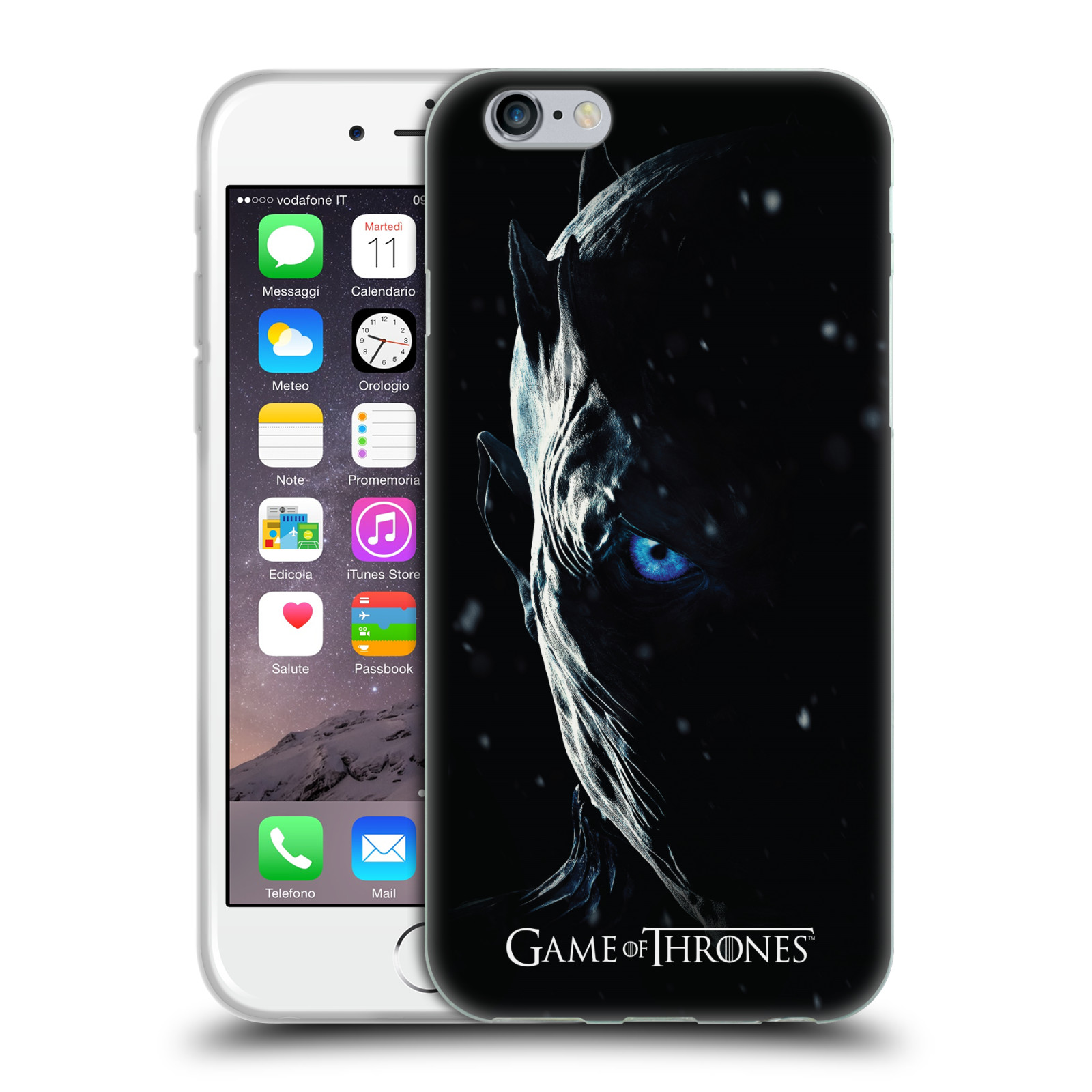 Silikonové pouzdro na mobil Apple iPhone 6 - Head Case - Hra o trůny - Night King