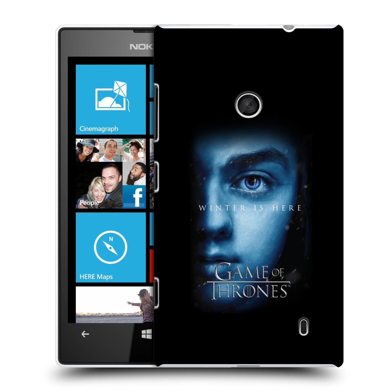 Plastové pouzdro na mobil Nokia Lumia 520 - Head Case - Hra o trůny - Arya Stark - Winter is here